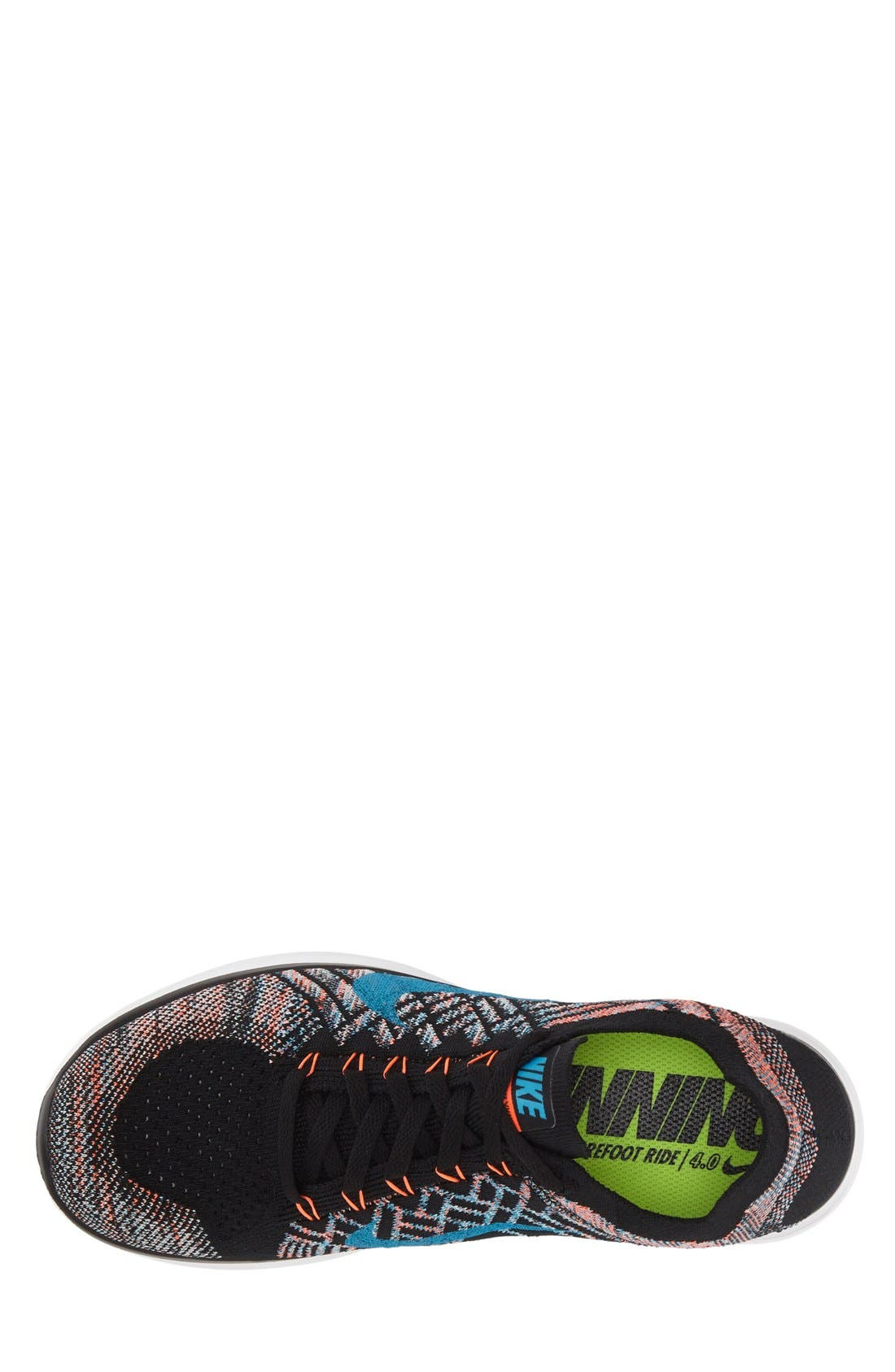Alternate Image 3  - Nike 'Free Flyknit 4.0' Running Shoe (Men)