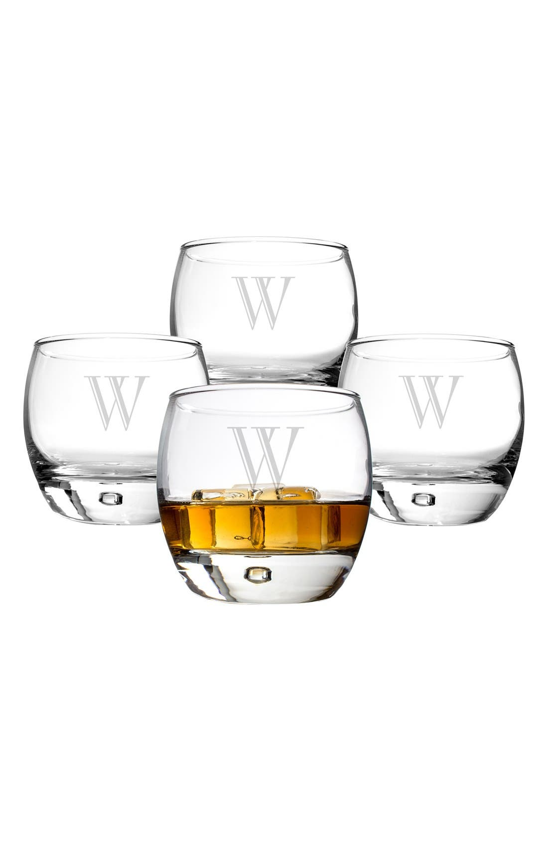 Alternate Image 2  - Cathy's Concepts Personalized Whiskey Glasses (Set of 4)