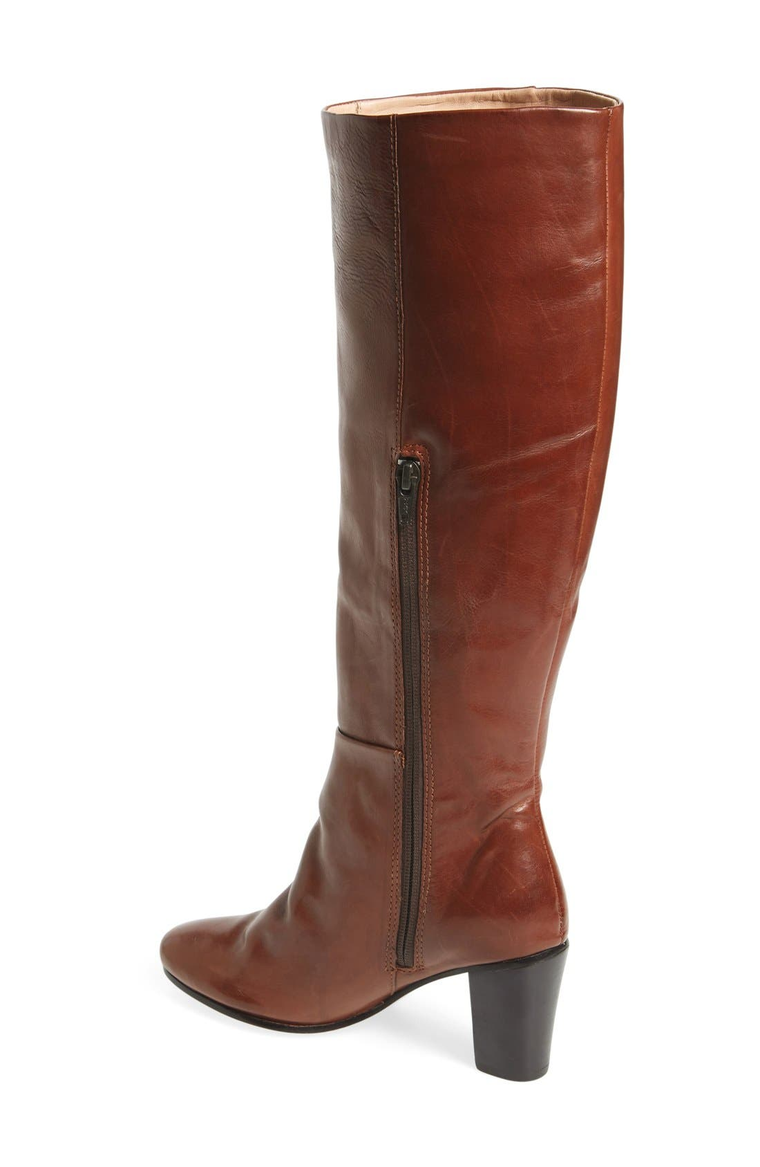 'Meredith' Boot,                             Alternate thumbnail 2, color,                             Bourbon Leather