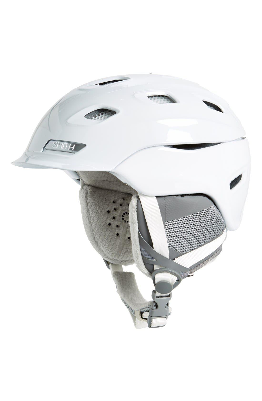'Vantage' Snow Helmet,                             Main thumbnail 1, color,                             White