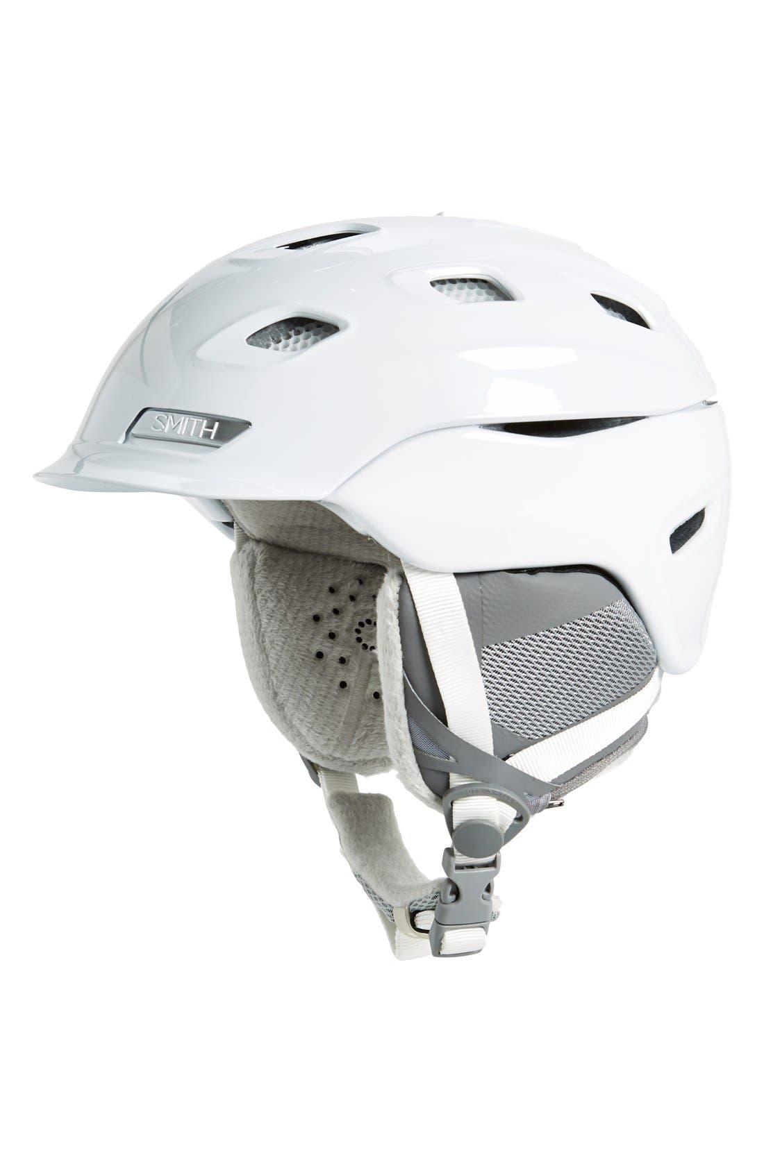 'Vantage' Snow Helmet,                         Main,                         color, White