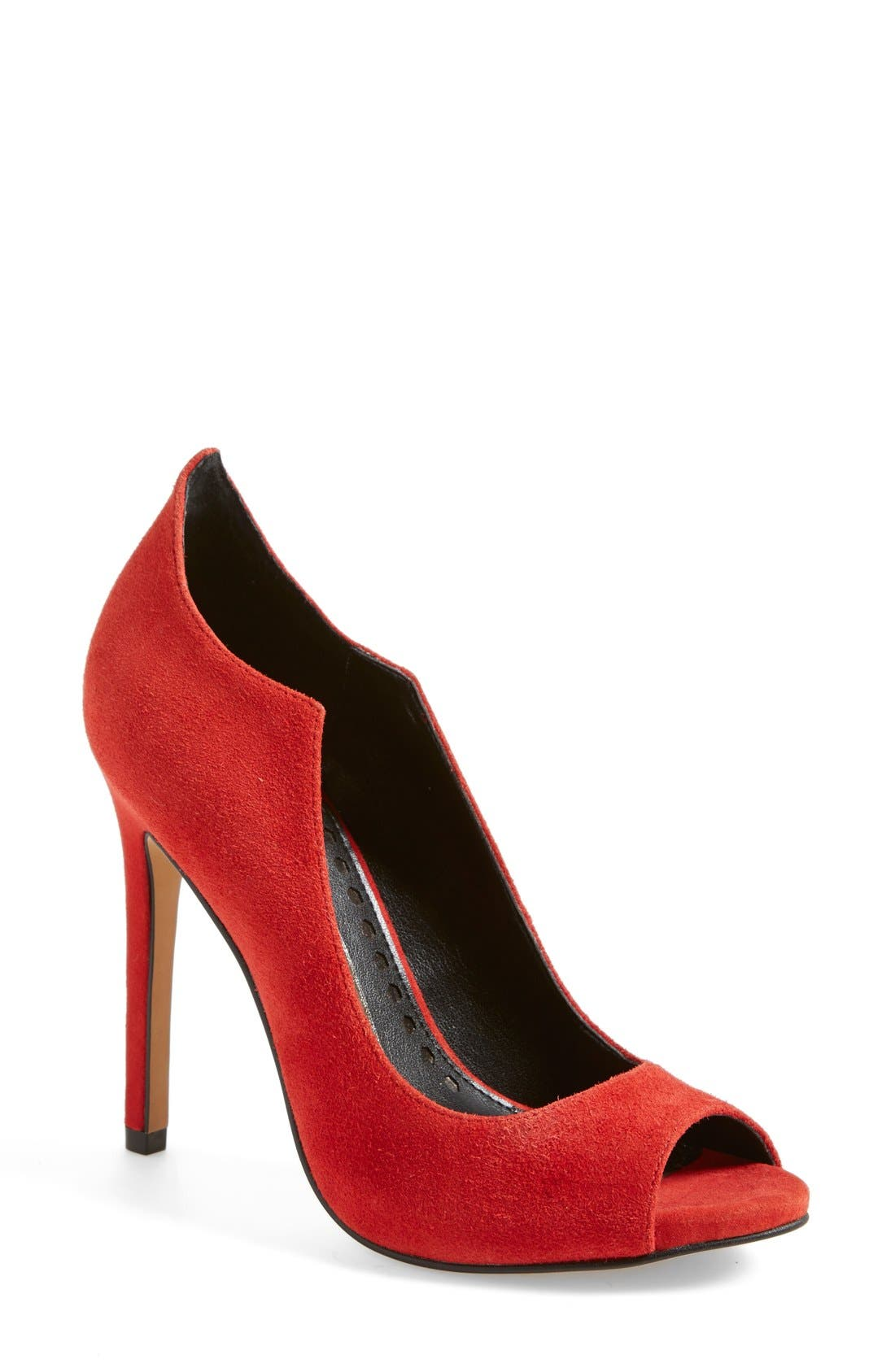 Alternate Image 1 Selected - Dolce Vita 'Isabel' Peep Toe Pump (Women)