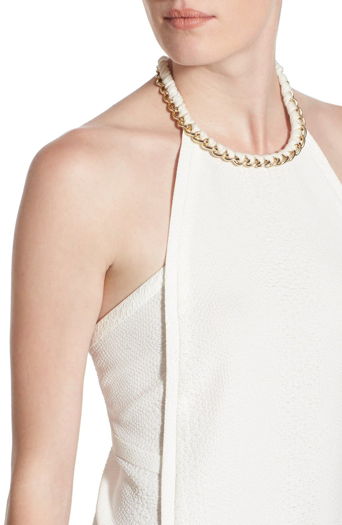 Alternate Image 4  - cooper & ella 'Coco' Chain High Neck Tank