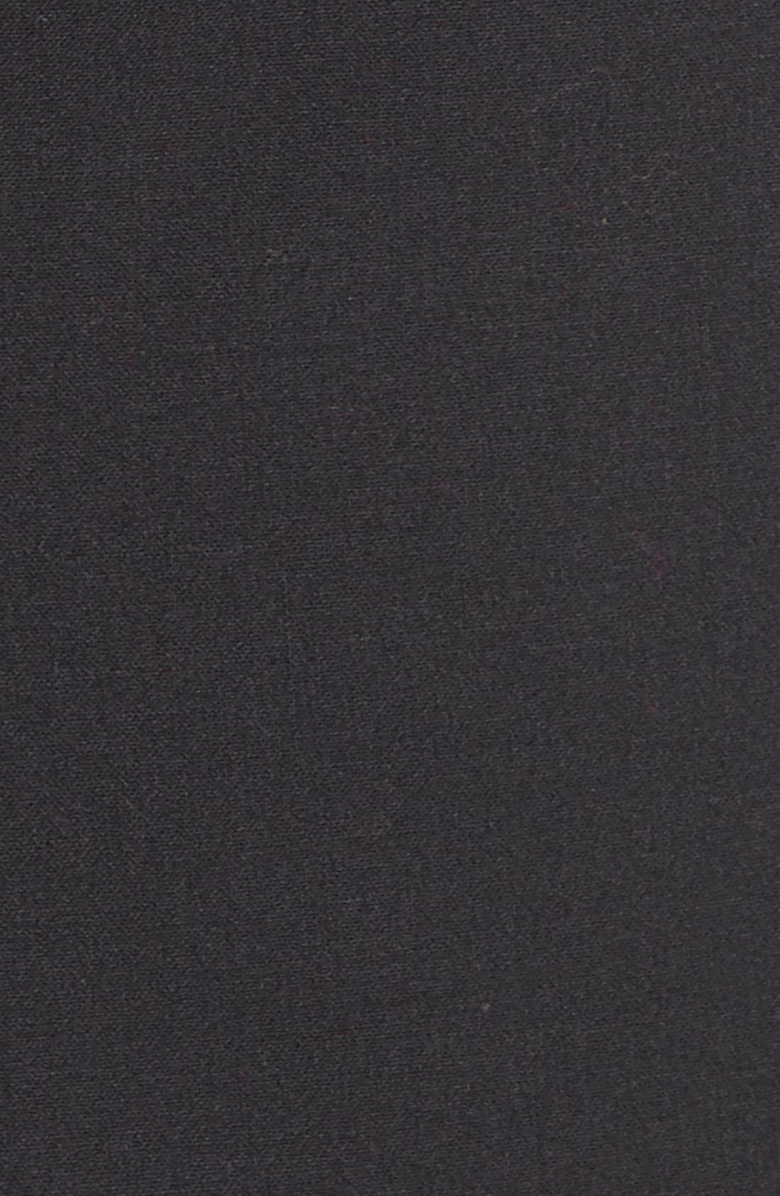 'Gladstone' Stretch Wool Jacket,                             Alternate thumbnail 4, color,                             Black