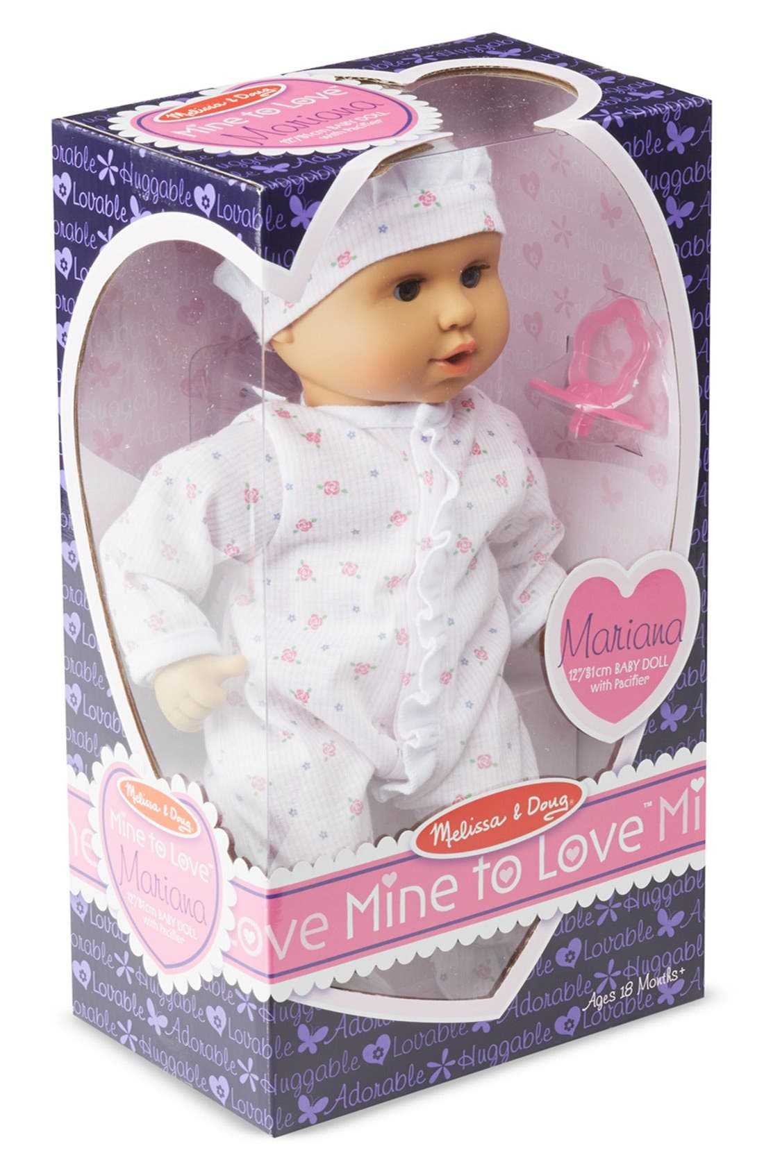 'Mine to Love - Mariana' Baby Doll,                             Alternate thumbnail 2, color,                             Pink