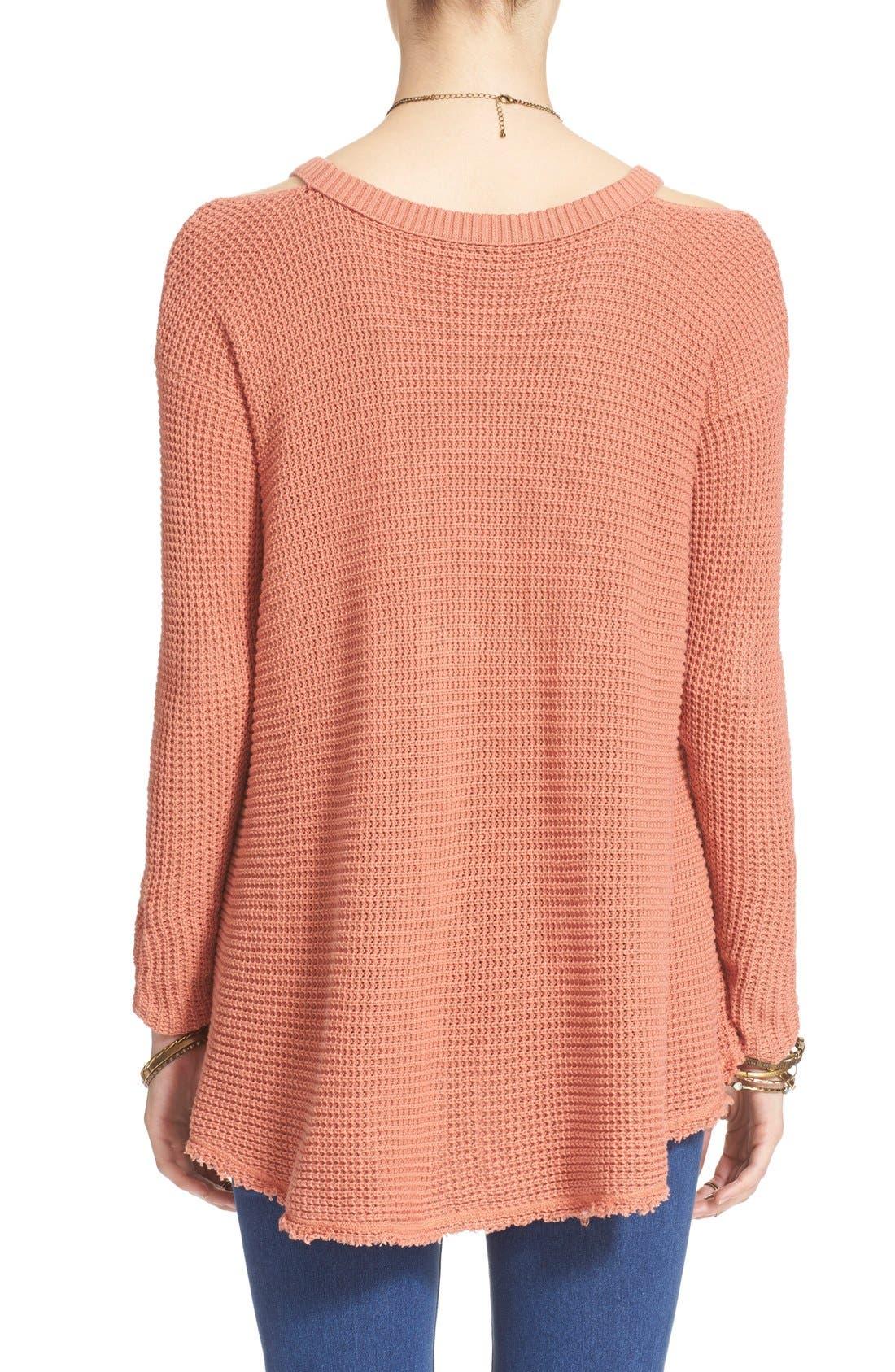 Alternate Image 2  - Free People 'Moonshine V' Cold Shoulder Sweater