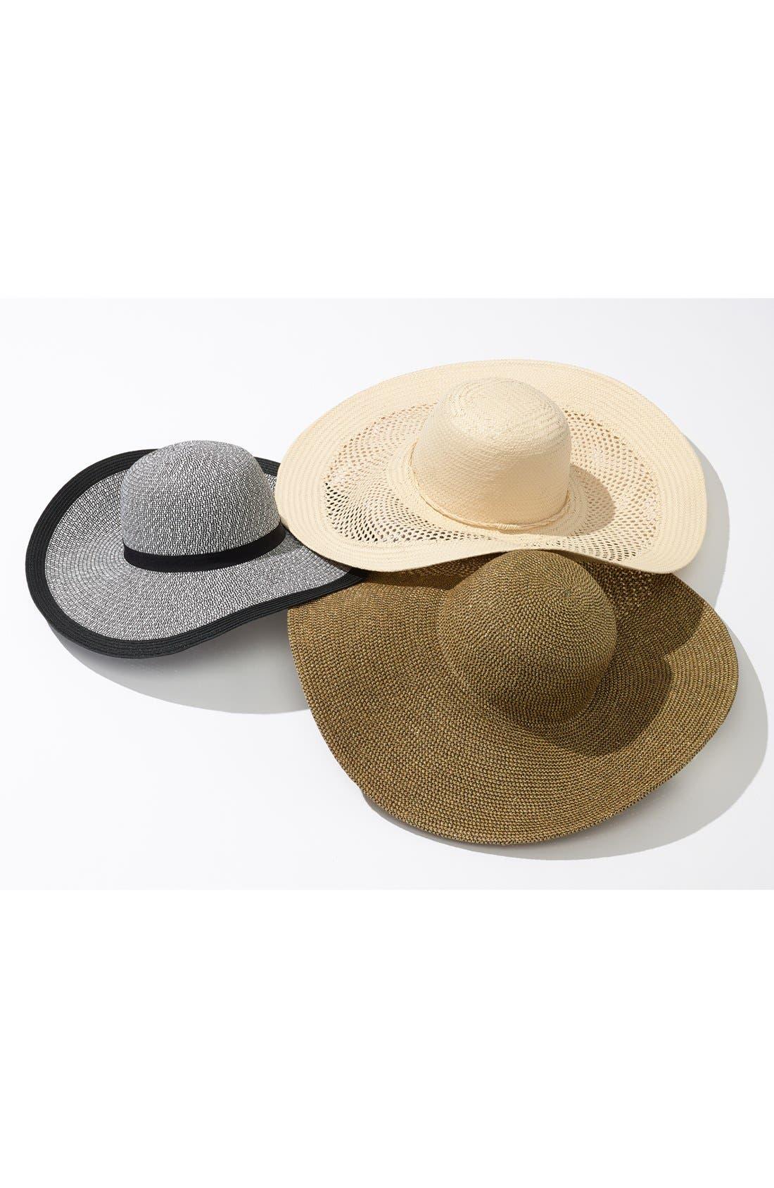 Alternate Image 3  - Phase 3 Metallic Floppy Straw Hat