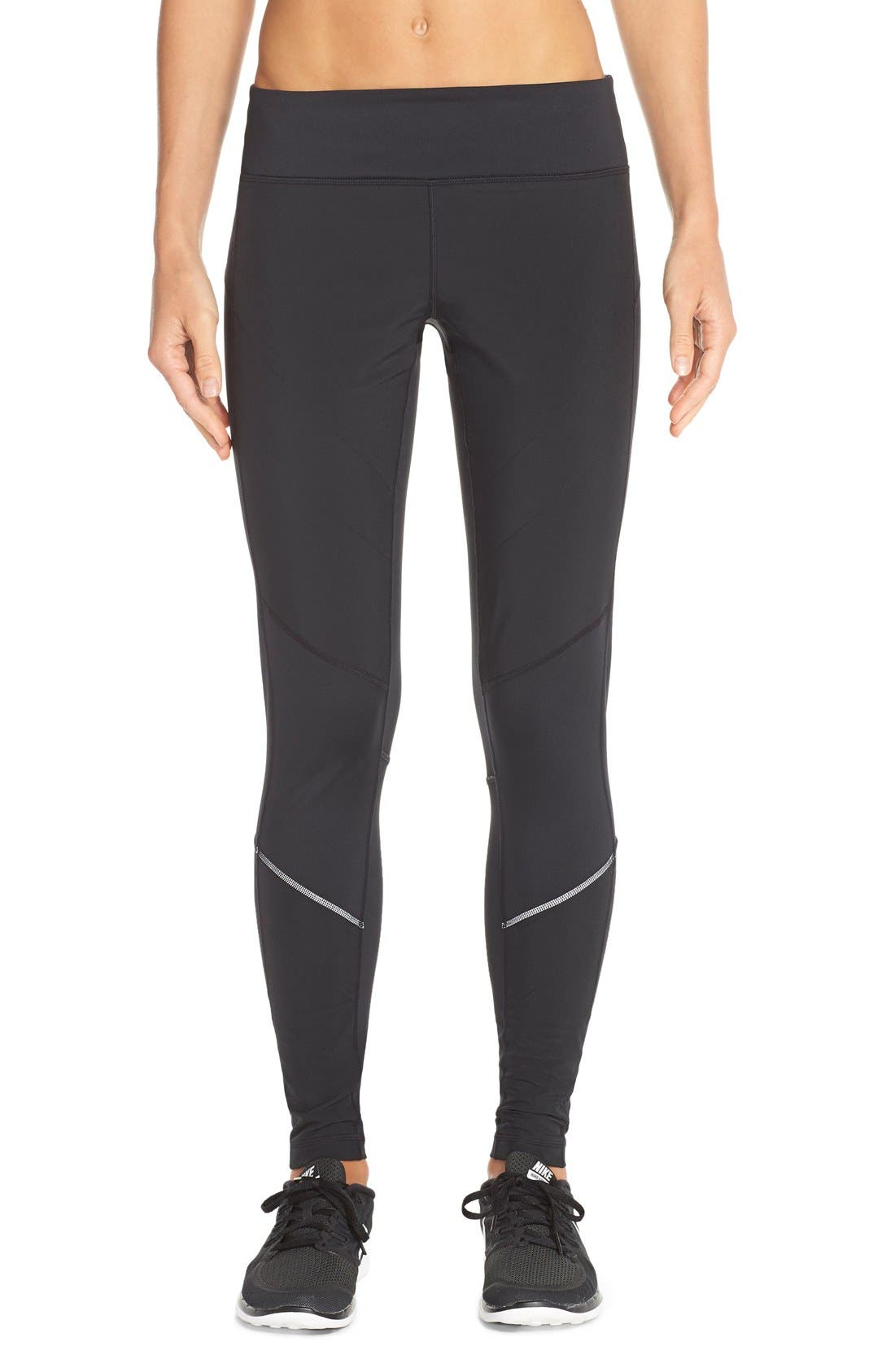 Alternate Image 1 Selected - Zella 'Chill Out' Running Tights