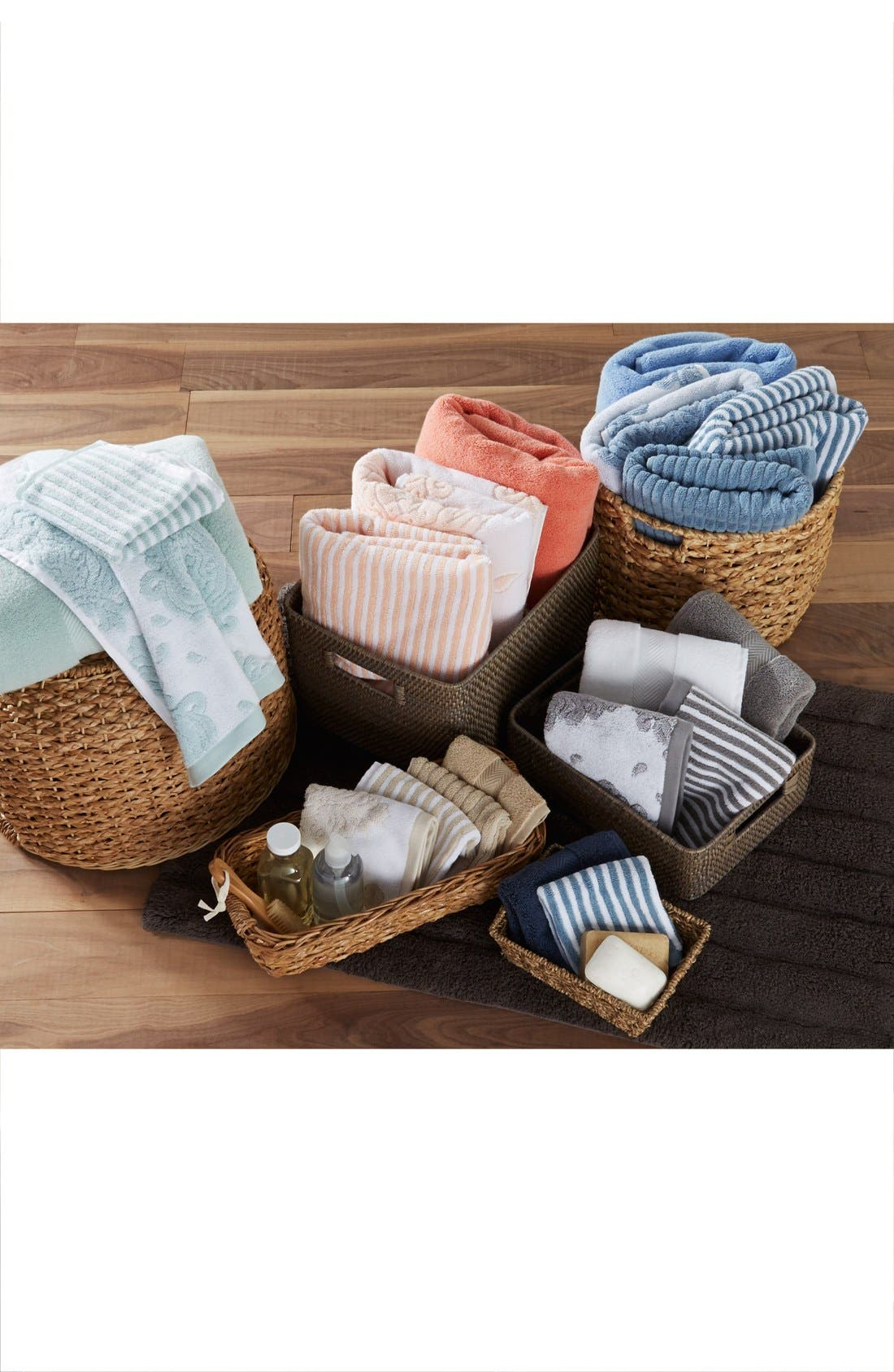 Alternate Image 3  - Nordstrom at Home 'Modern Rib' Hand Towel (2 for $24)