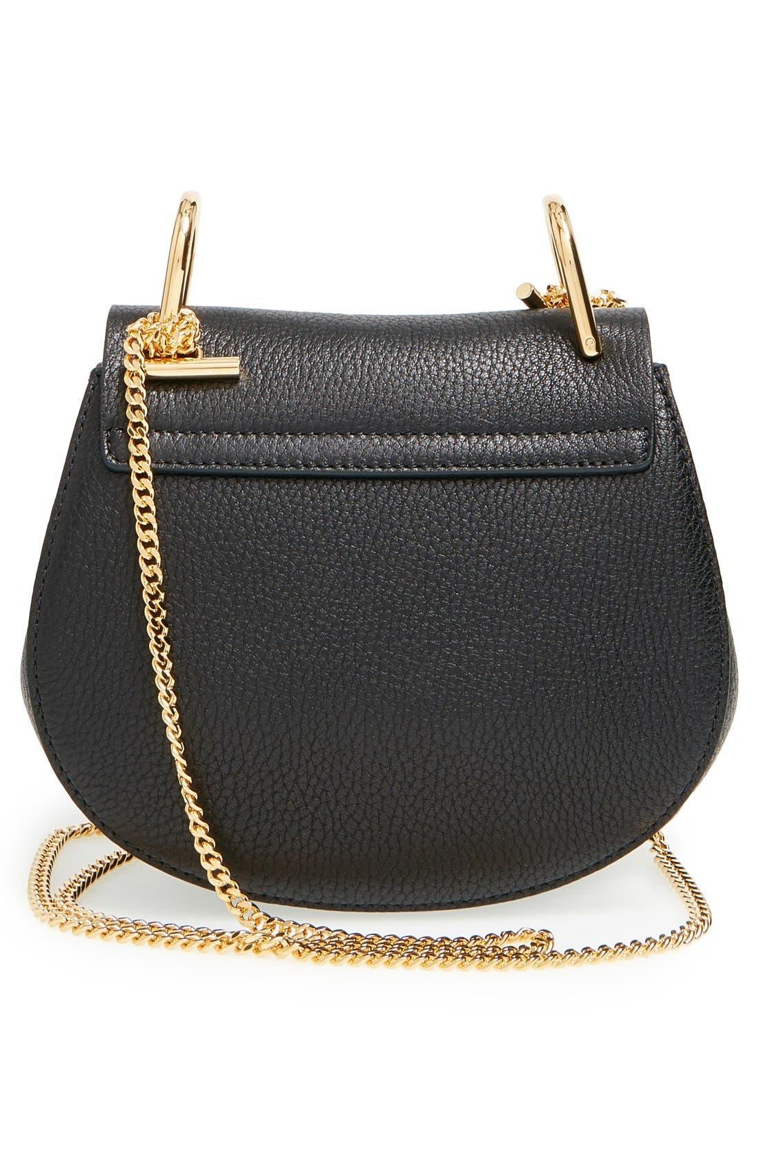 Alternate Image 3  - Chloé 'Mini Drew' Leather Shoulder Bag