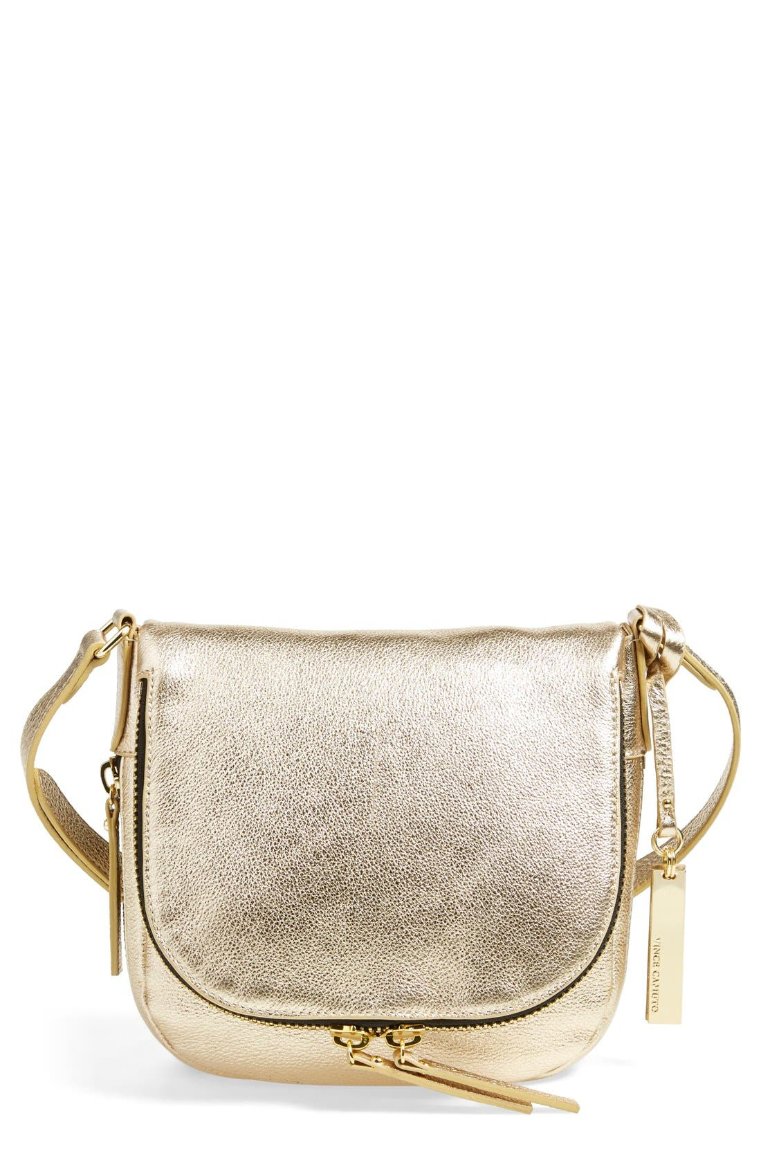 Main Image - Vince Camuto 'Baily' Leather Crossbody Bag