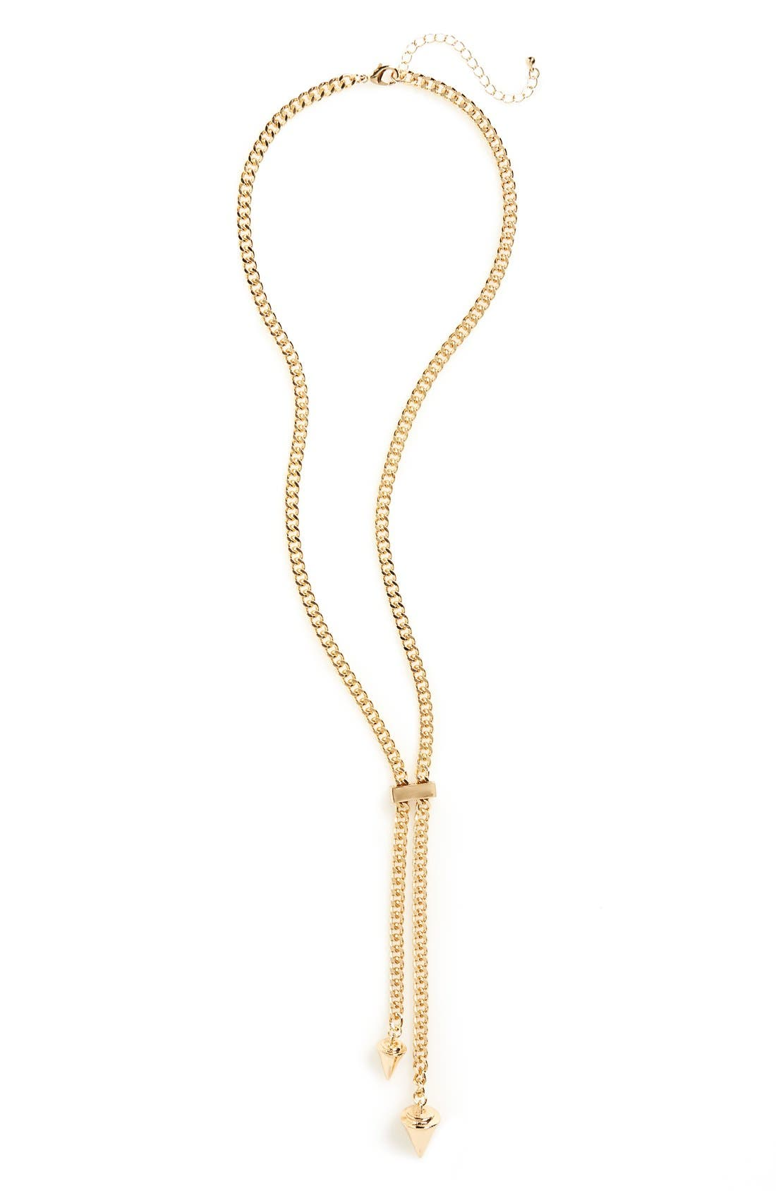 Alternate Image 1 Selected - Sole Society 'Dagger' Lariat Necklace