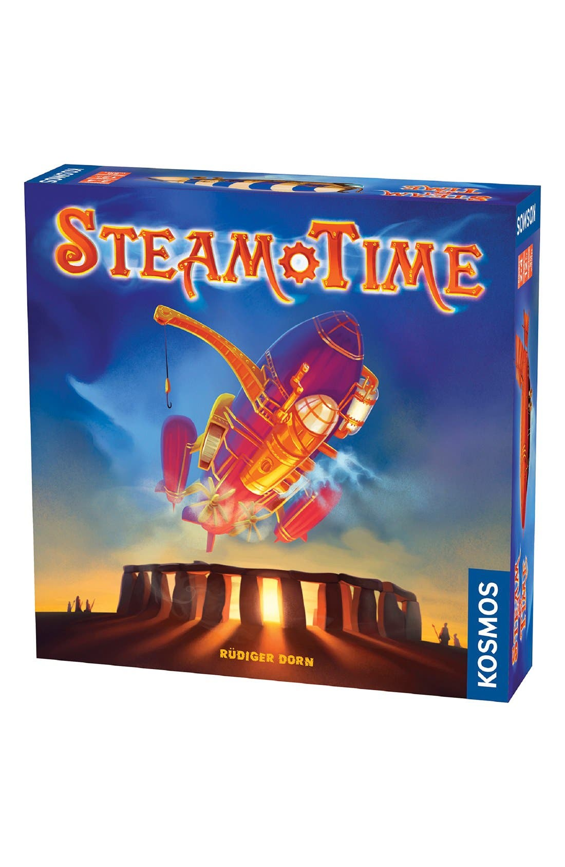 'Steam Time' Board Game,                         Main,                         color, Blue