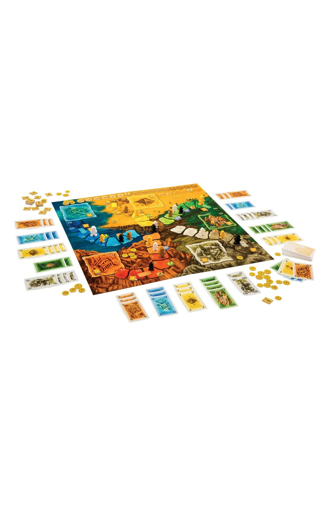 'Lost Cities - The Board Game',                             Alternate thumbnail 3, color,                             Orange