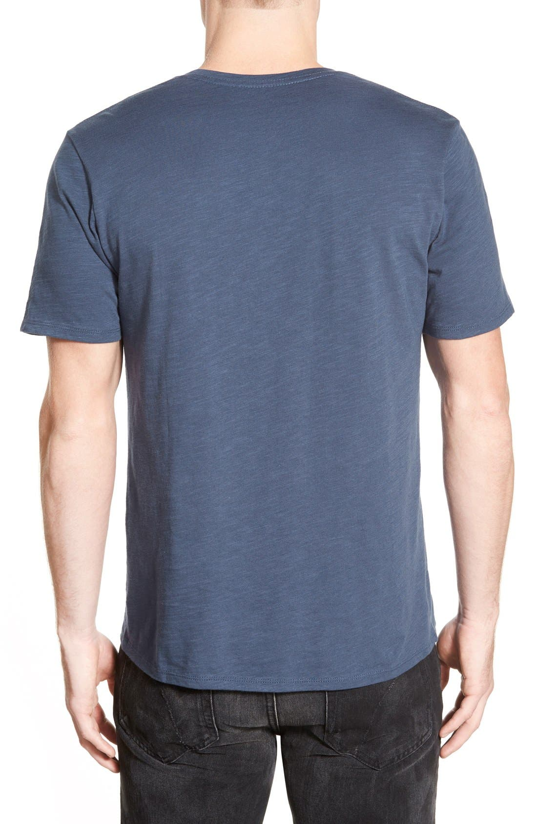 Alternate Image 2  - The Rail Slub Cotton V-Neck T-Shirt