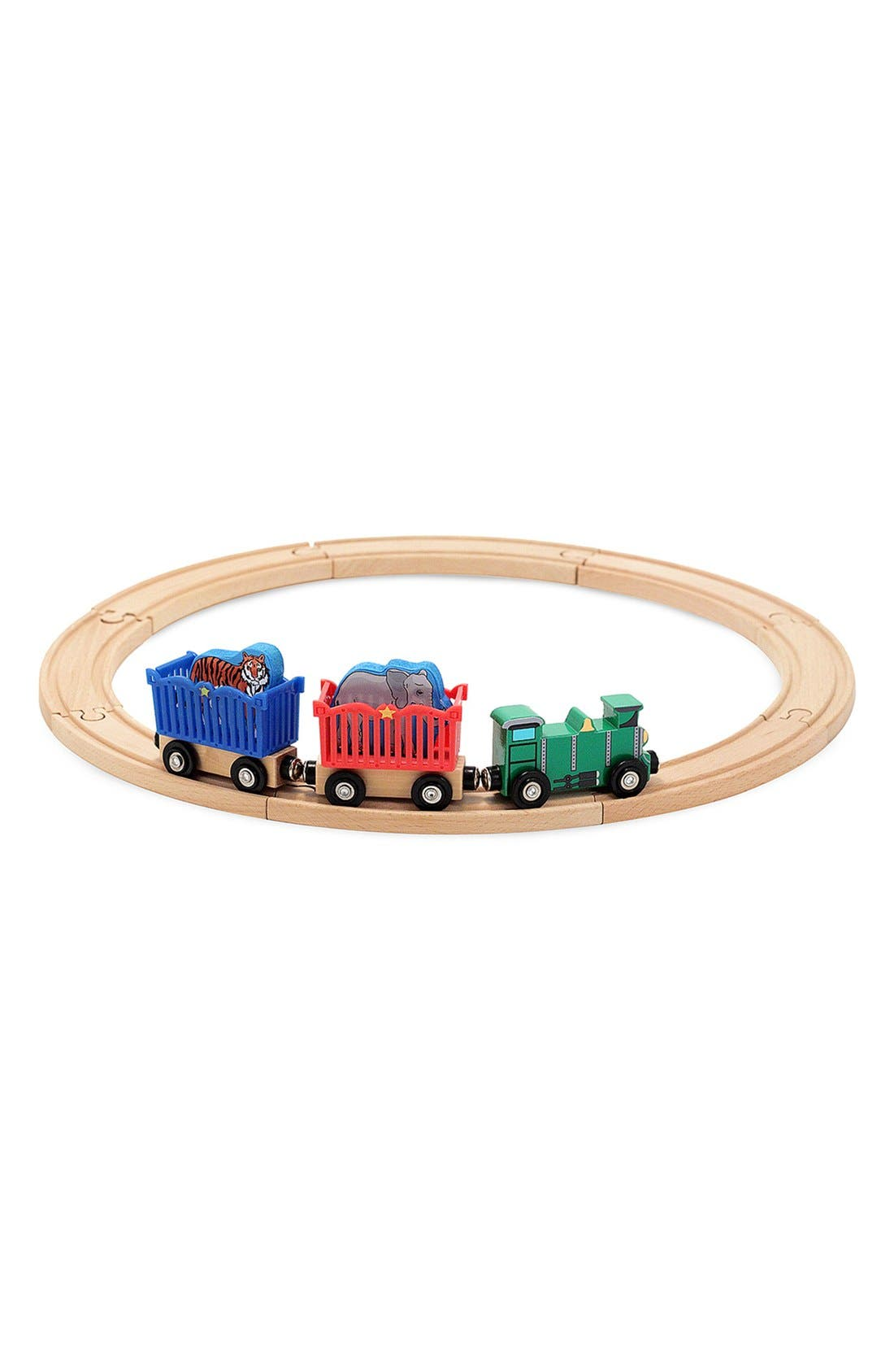 Zoo Animal Train Set,                             Main thumbnail 1, color,                             Multi