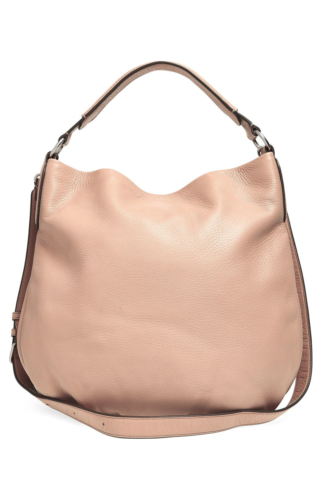 MARC BY MARC JACOBS 'New Q Hillier' Hobo,                             Alternate thumbnail 6, color,                             Cameo Nude