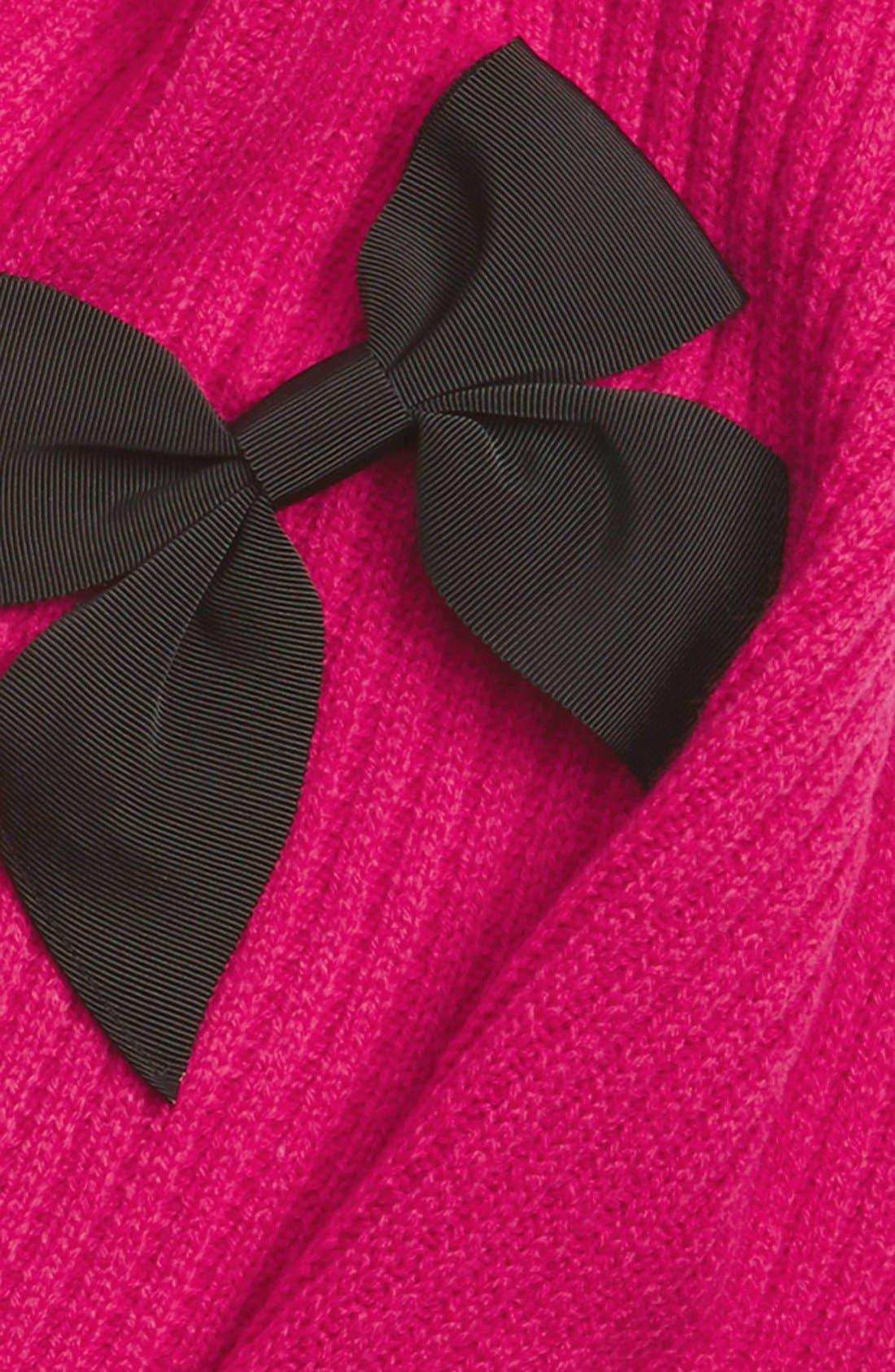 Alternate Image 3  - kate spade new york bow rib knit scarf