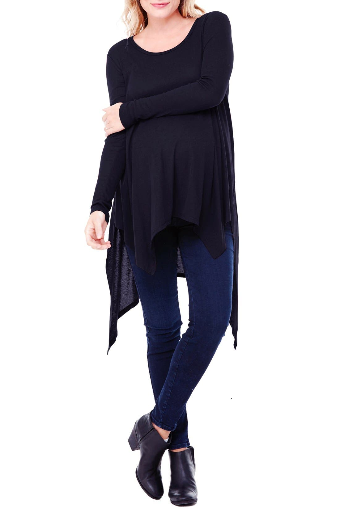 Ingrid & Isabel® Handkerchief Maternity Tunic Top
