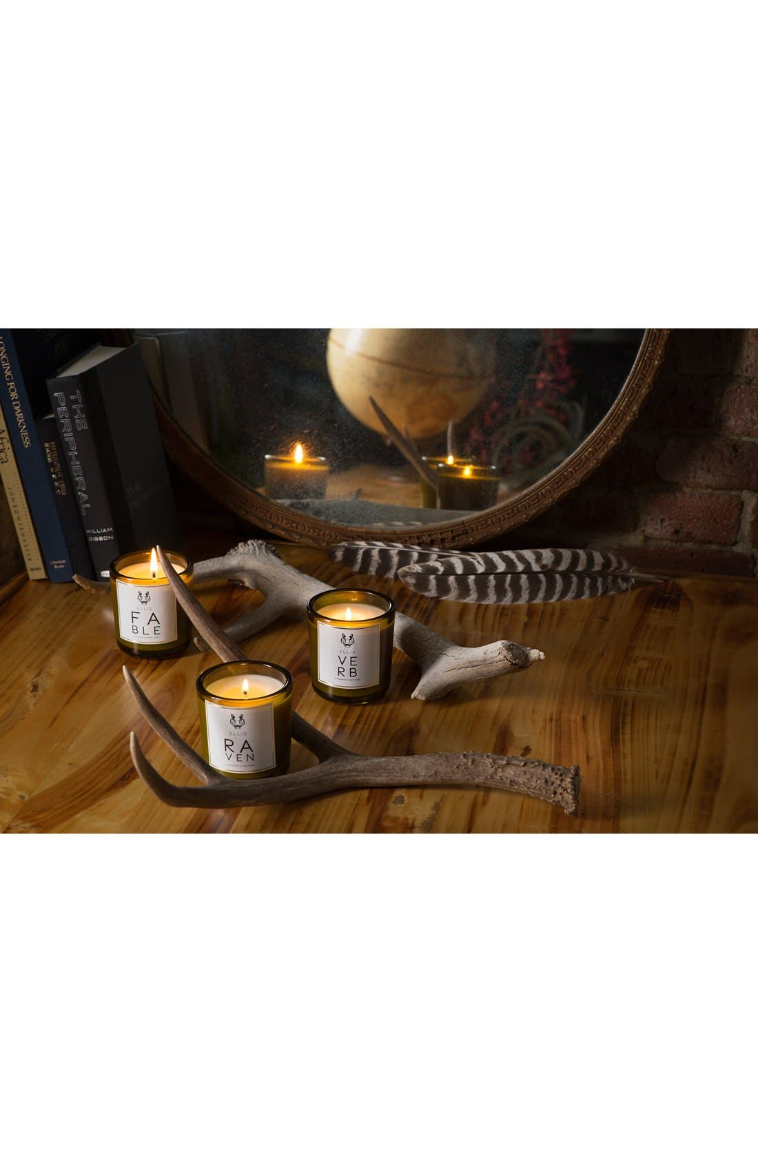 Alternate Image 2  - Ellis Brooklyn 'Verb Terrific' Scented Candle