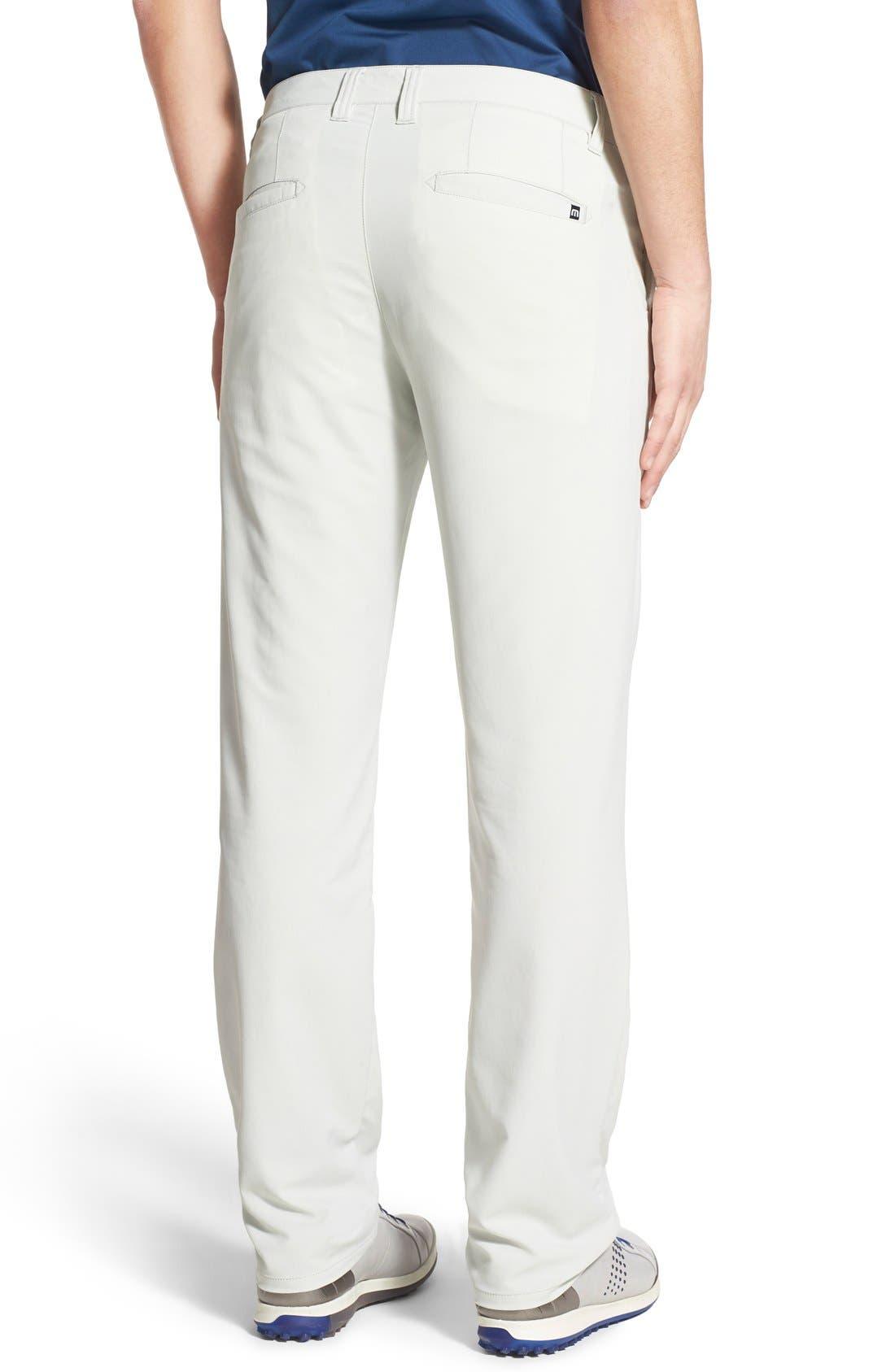'Hough' Trim Fit Golf Pants,                             Alternate thumbnail 2, color,                             Dawn Blue/ Grey