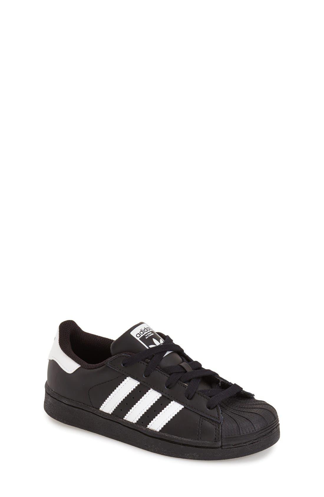 Alternate Image 1 Selected - adidas 'Superstar' Sneaker (Baby, Walker, Toddler, Little Kid & Big Kid)
