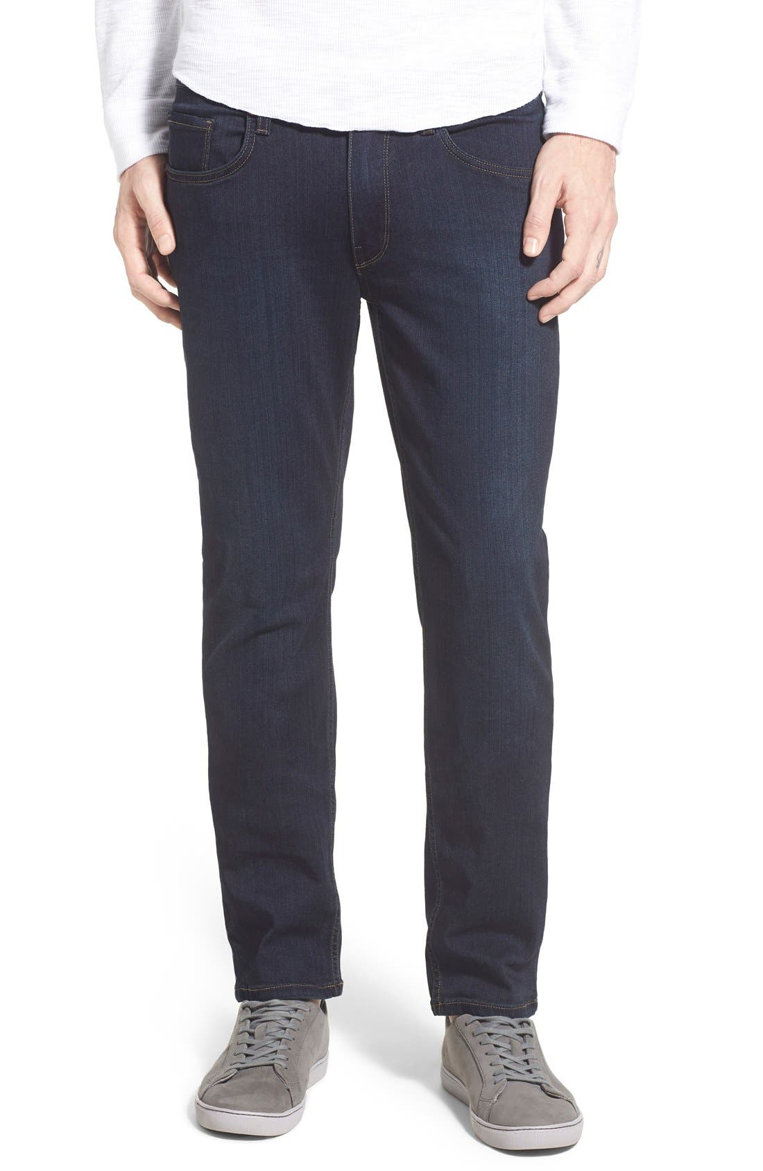 Alternate Image 1 Selected - PAIGE Lennox Slim Fit Jeans (Cellar)