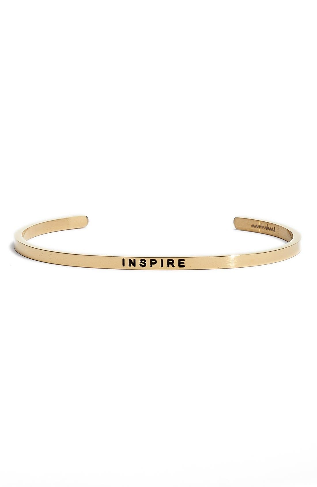Alternate Image 1 Selected - Mantraband® 'Inspire' Cuff