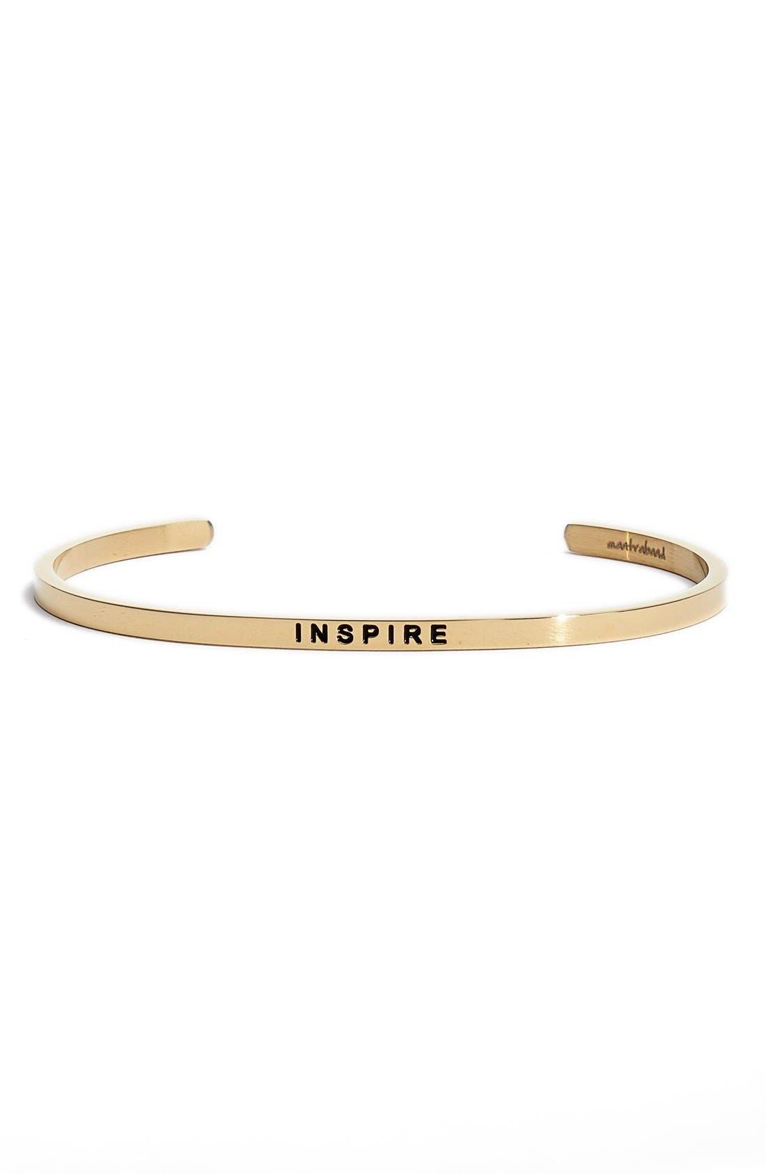 Main Image - Mantraband® 'Inspire' Cuff