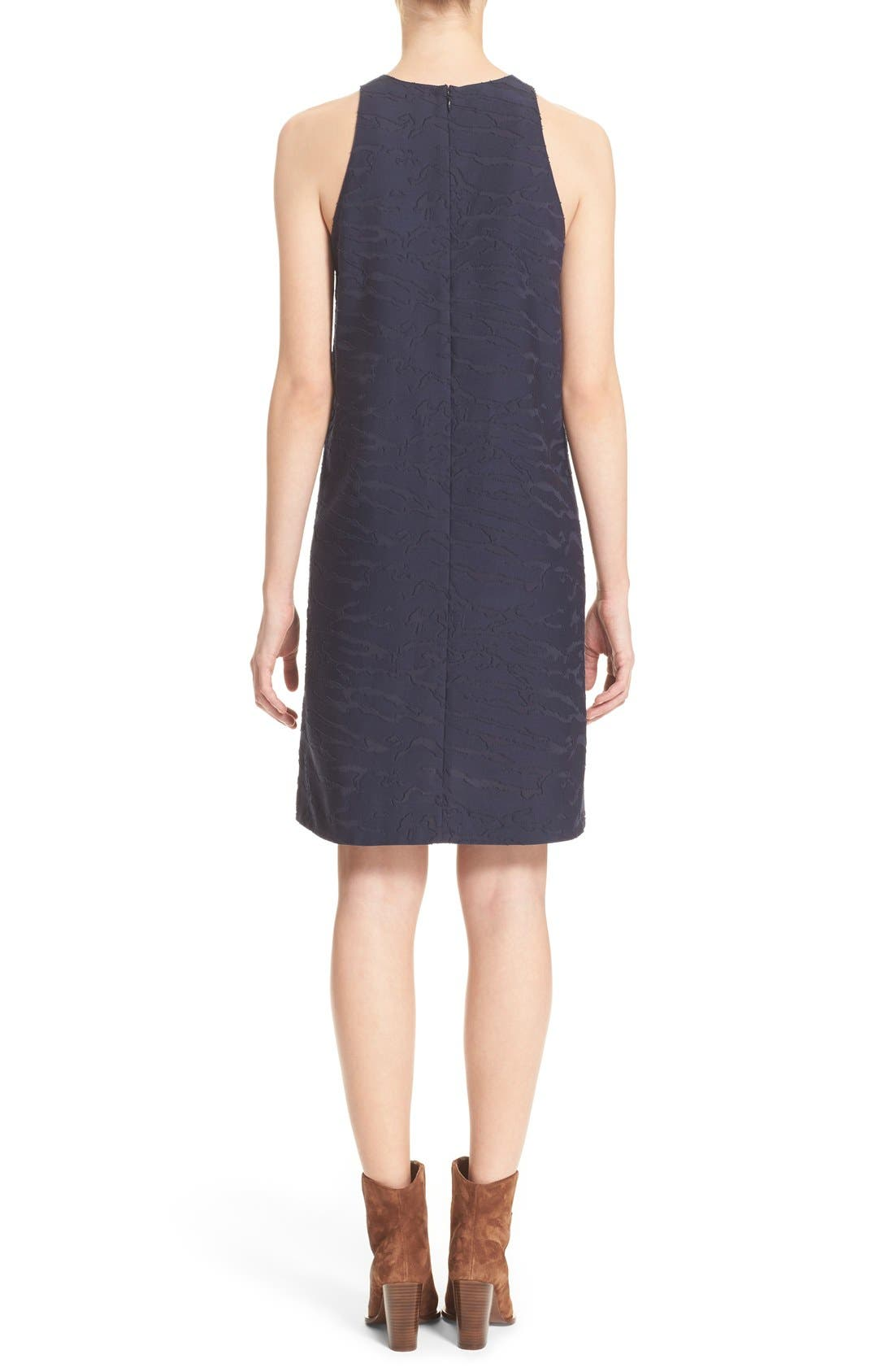 Alternate Image 2  - Vince Fil Coupé Sleeveless Shift Dress (Nordstrom Exclusive)