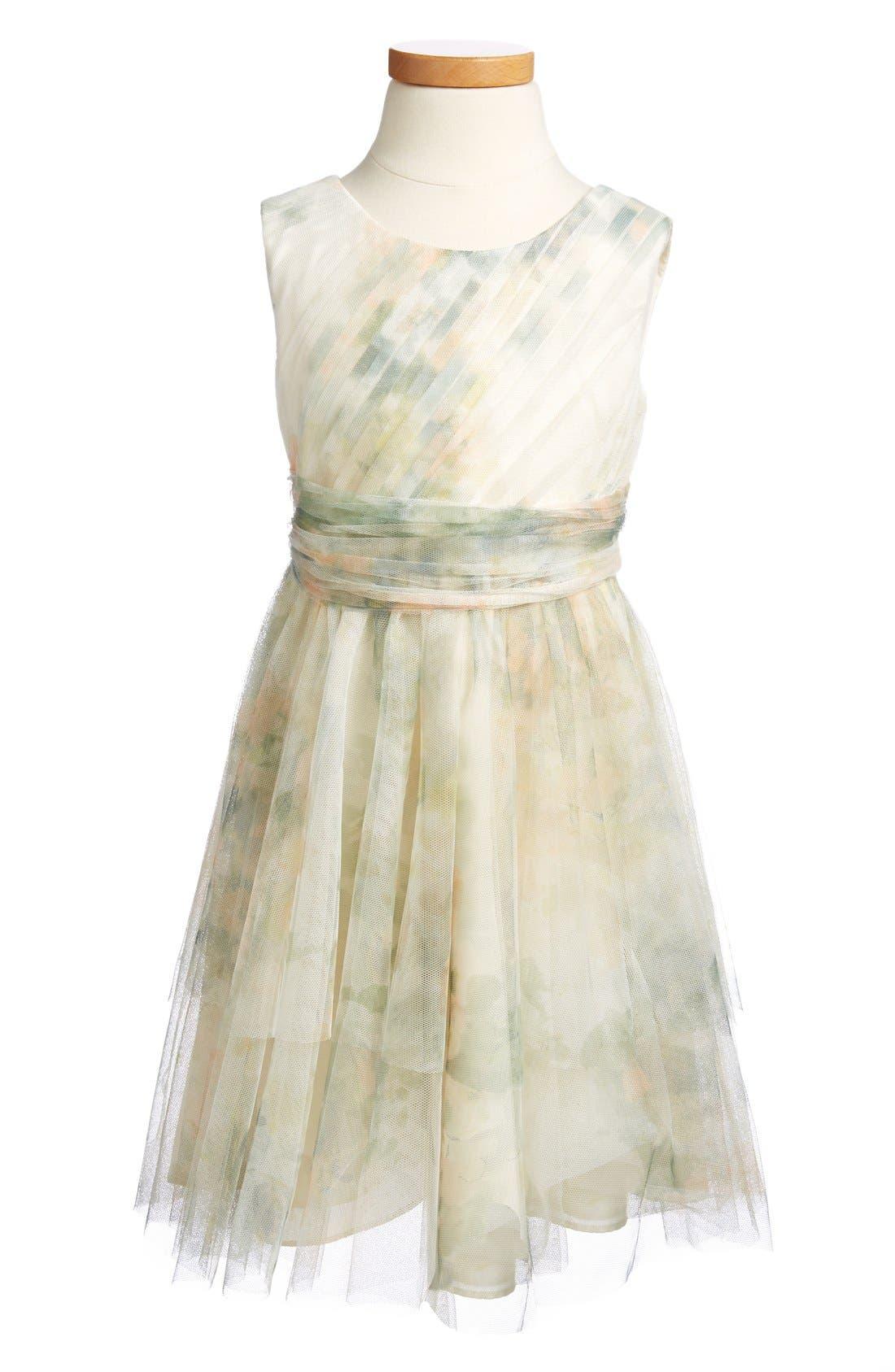 Jenny Yoo 'Etsy - Vintage Floral' Tulle Dress (Toddler, Little Girls & Big Girls)
