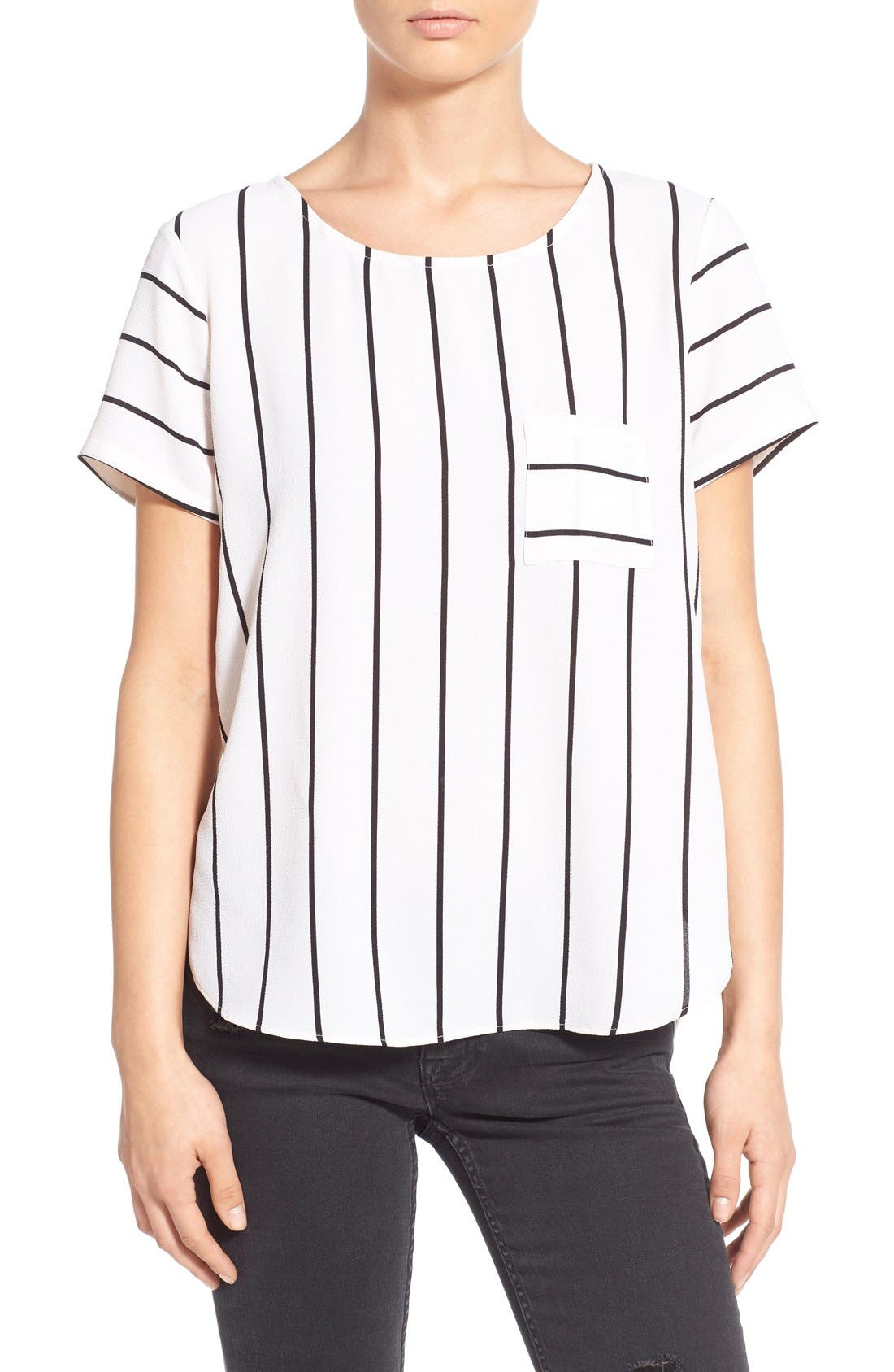 Alternate Image 1 Selected - BP. Side Slit High/Low Tee