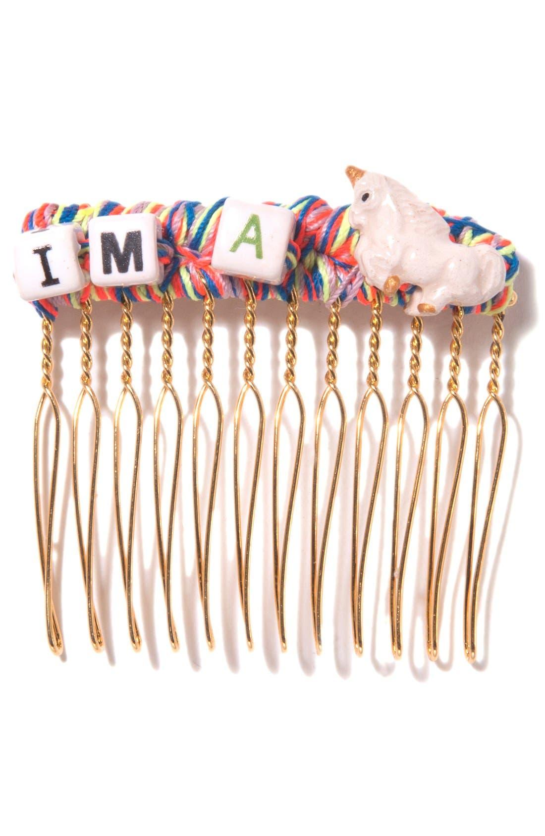 Main Image - Venessa Arizaga 'I'm a Unicorn' Hair Comb