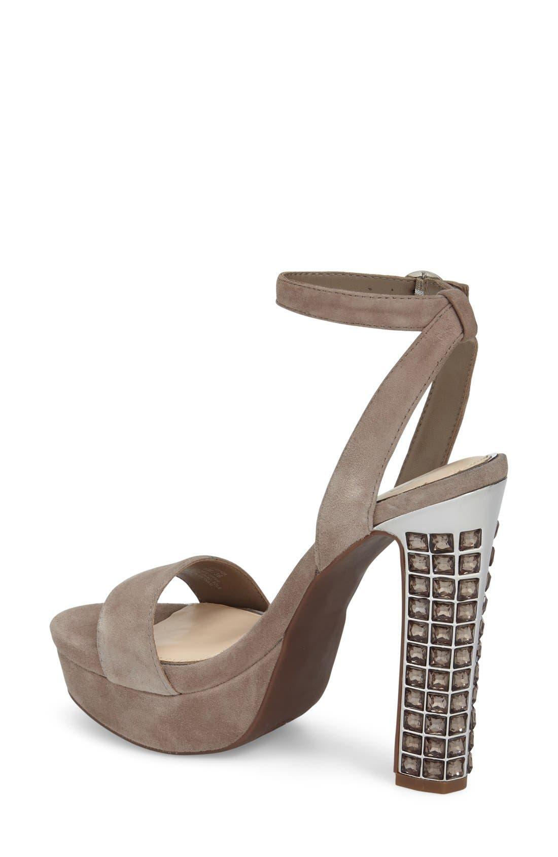 Alternate Image 2  - Jessica Simpson 'Banda' Embellished Platform Sandal (Women)