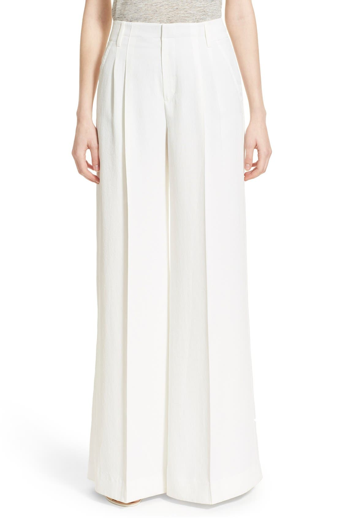 Alternate Image 1 Selected - Vince Wide Leg Trousers