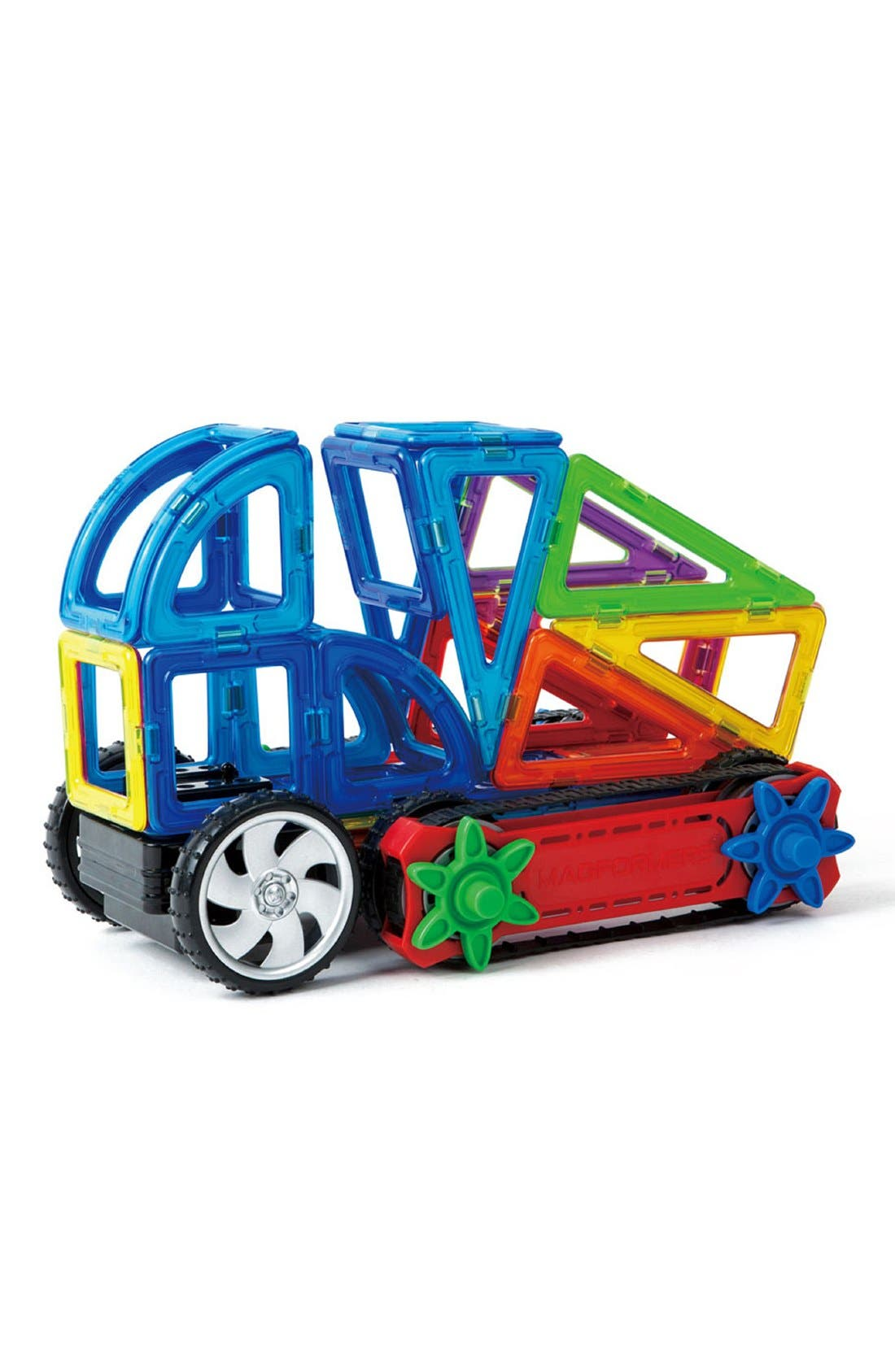 'Dynamic Wheel' Magnetic Remote Control Vehicle Construction Set,                             Alternate thumbnail 2, color,                             Rainbow