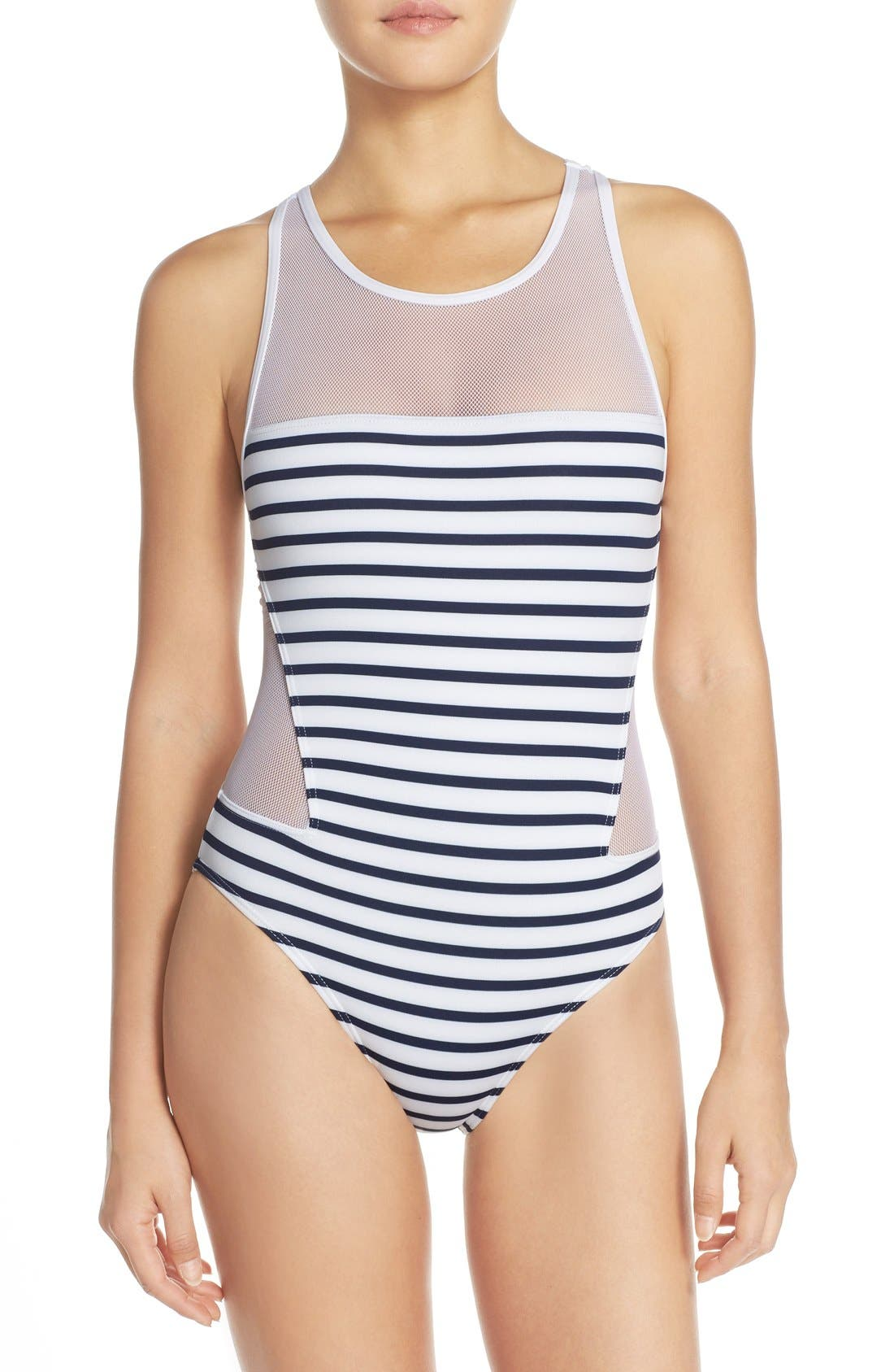 Alternate Image 1 Selected - Vince Camuto 'Shore Side' One-Piece Swimsuit