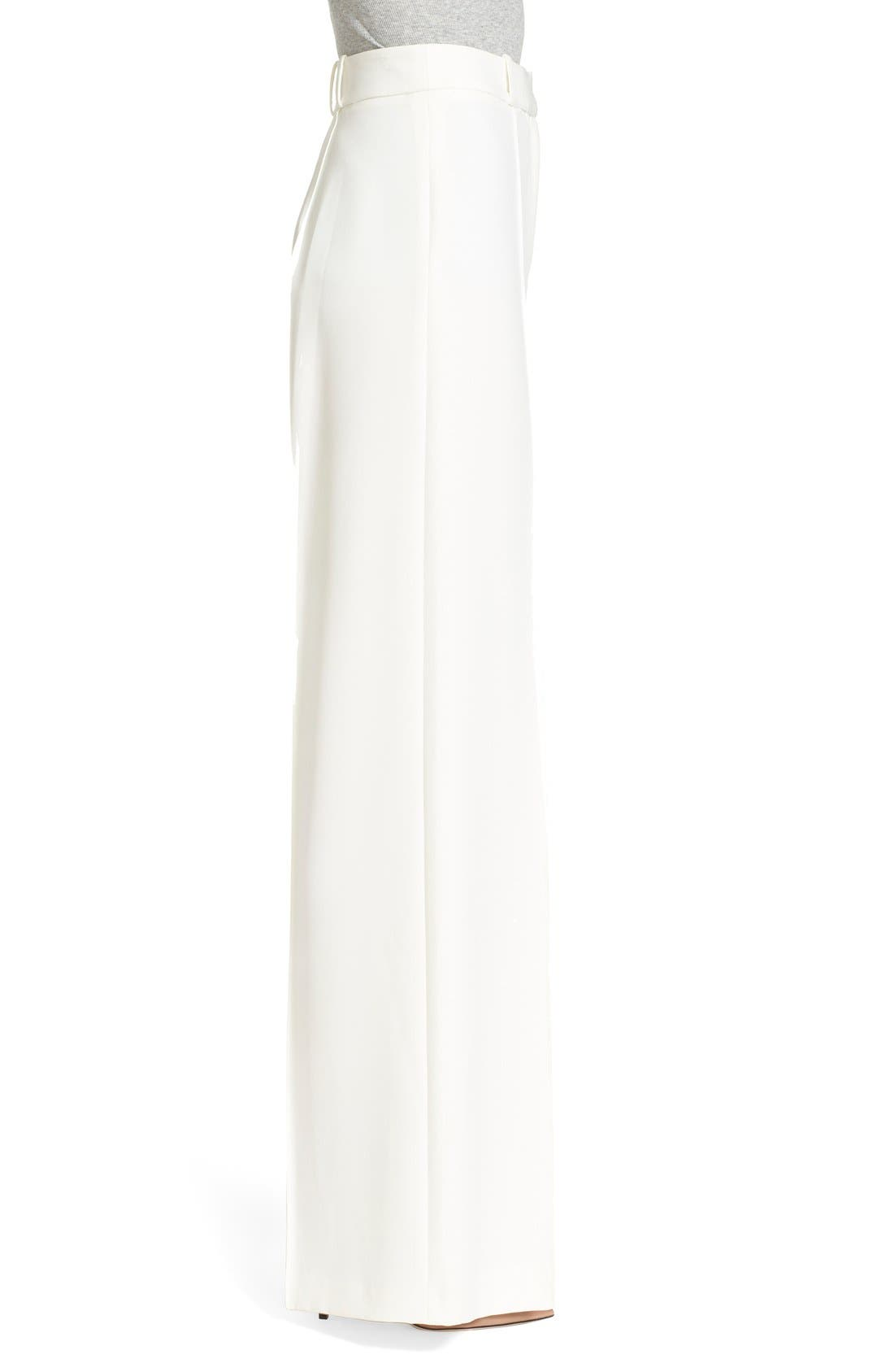 Alternate Image 3  - Milly 'Hayden' Wide Leg Trousers