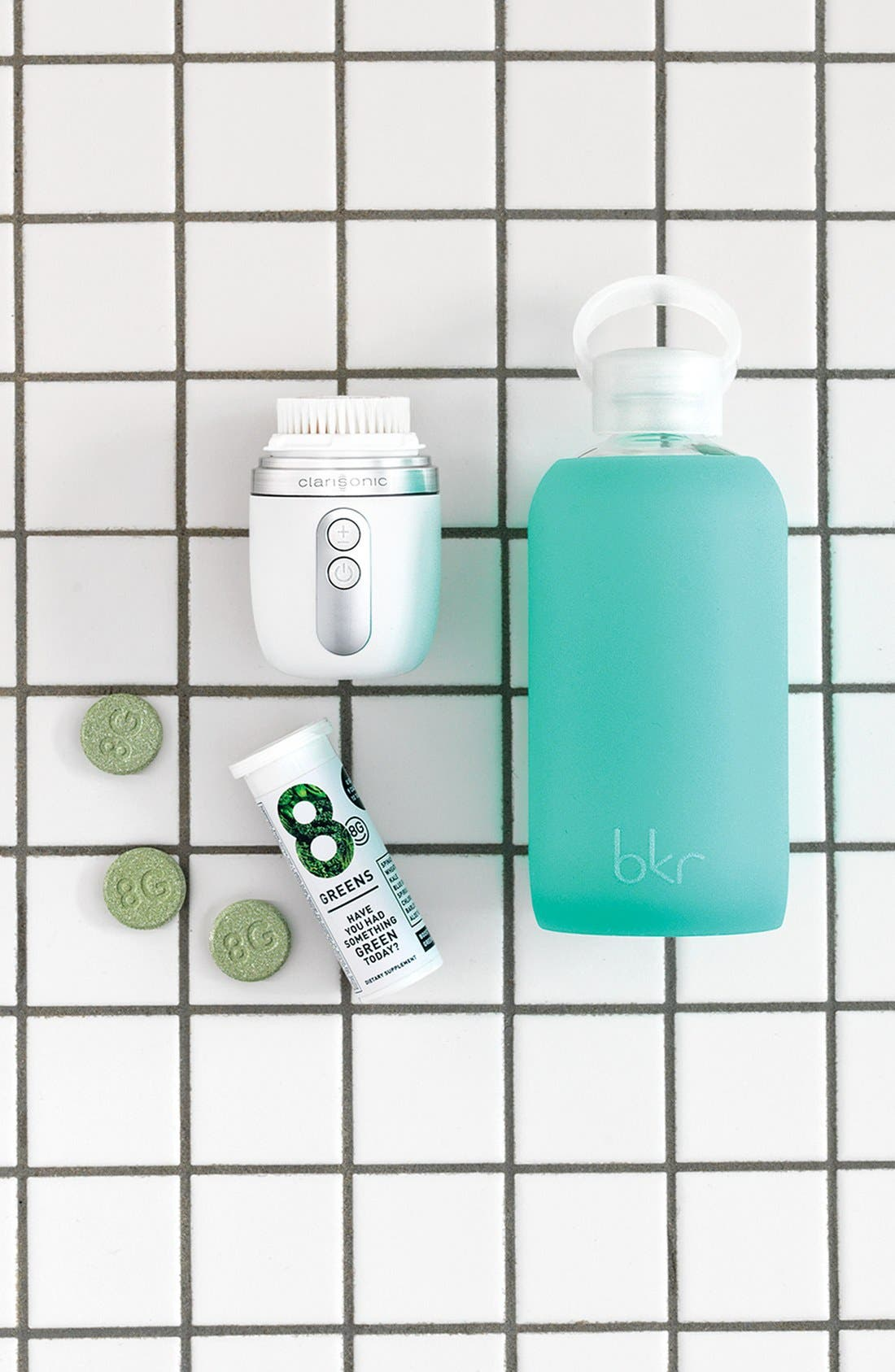 Alternate Image 2  - bkr® 16-Ounce Glass Water Bottle