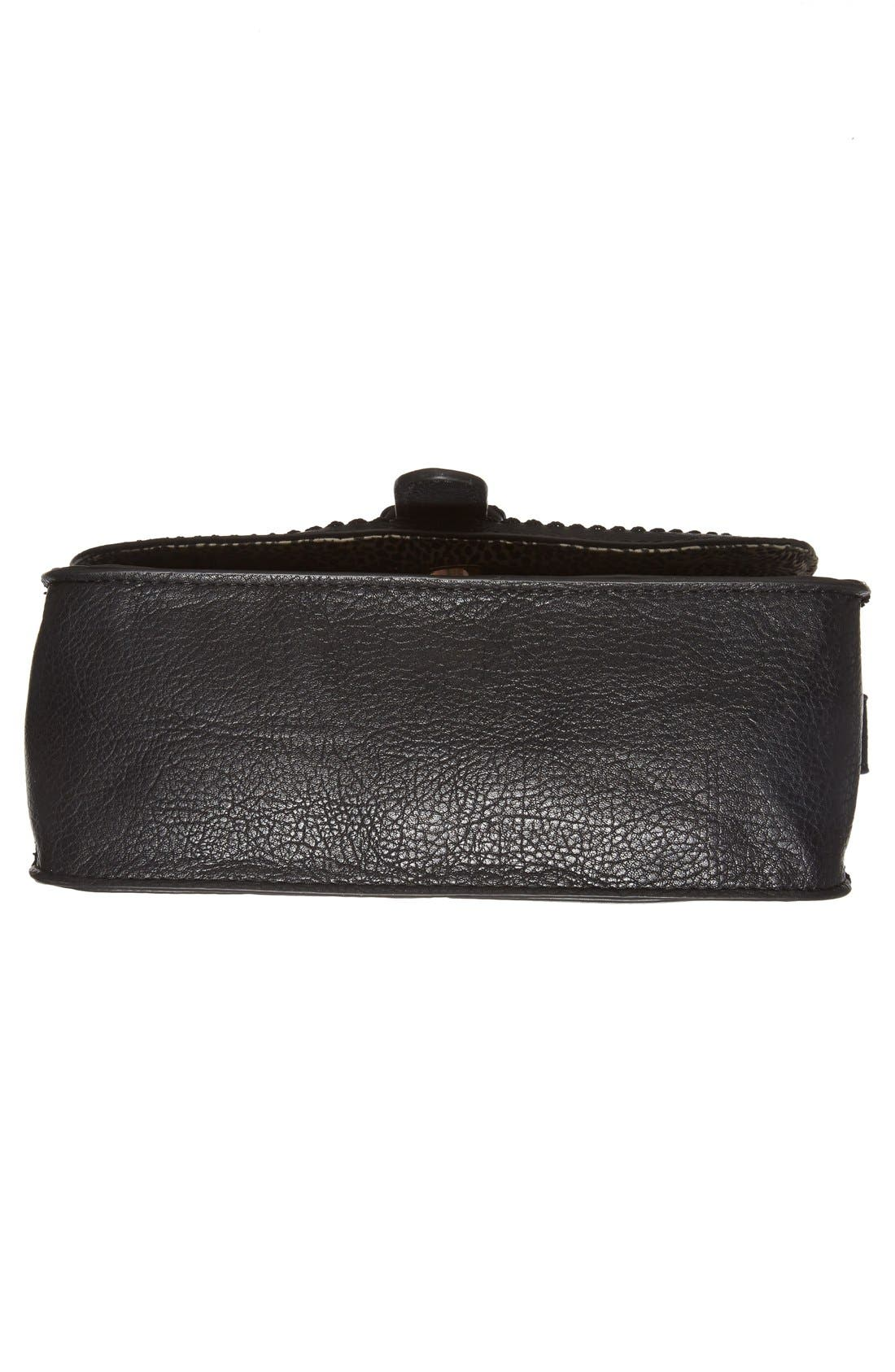 Alternate Image 6  - Sole Society 'Saylah' Structured Faux Leather Crossbody Bag