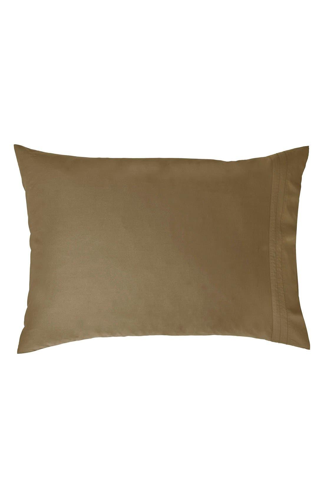 Donna Karan Collection 510 Thread Count Pillowcases,                             Main thumbnail 1, color,                             Shiitake