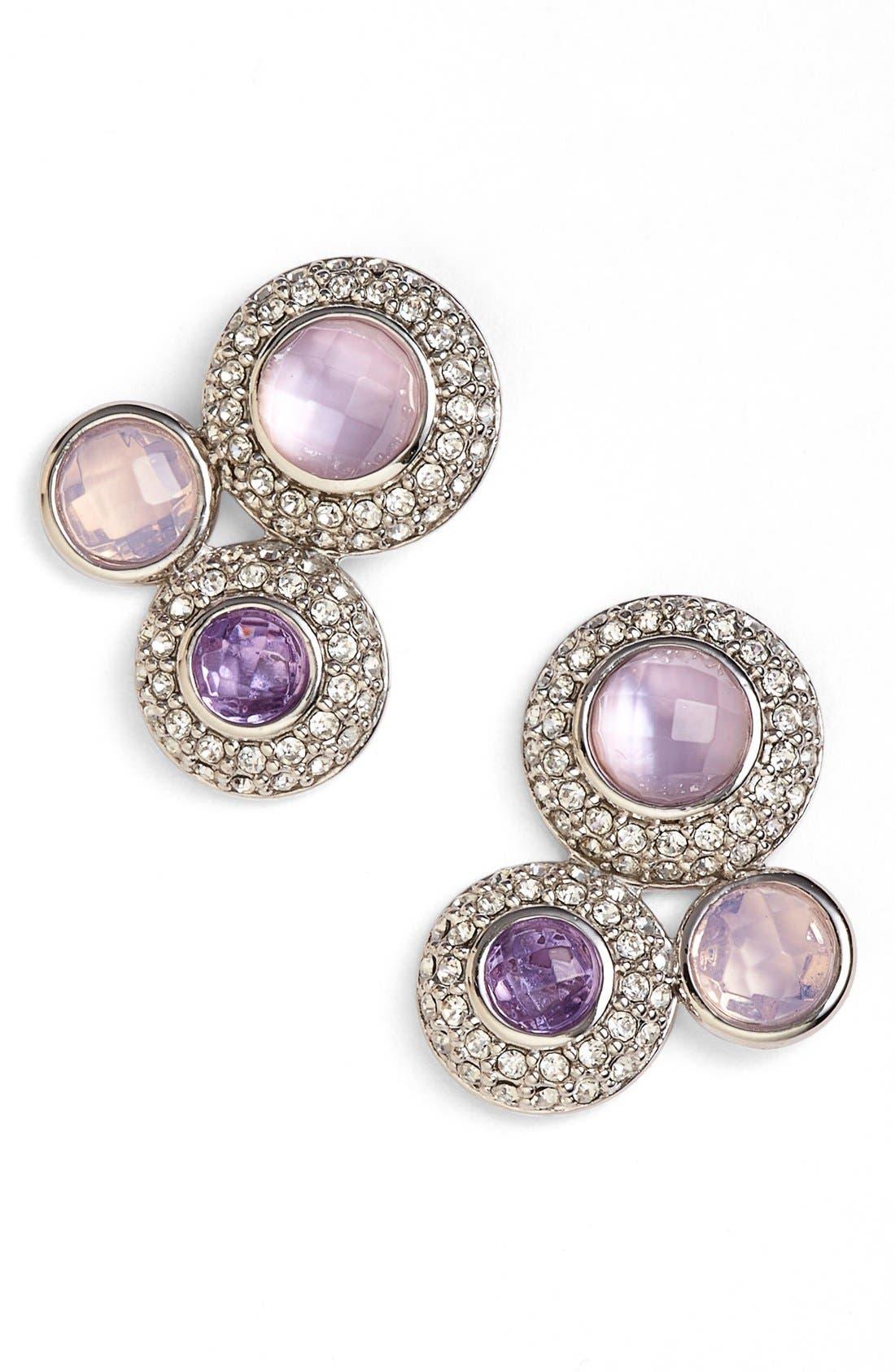 Main Image - Judith Jack Jeweled Cluster Stud Earrings