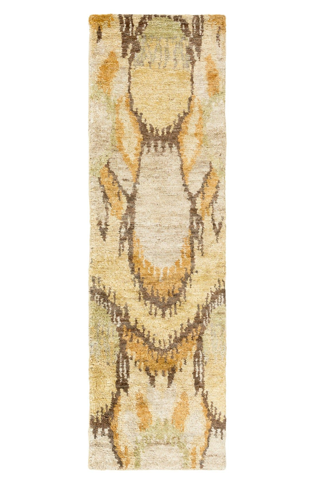 'Scarborough' Jute Rug,                             Alternate thumbnail 3, color,                             Gold/ Beige/ Olive