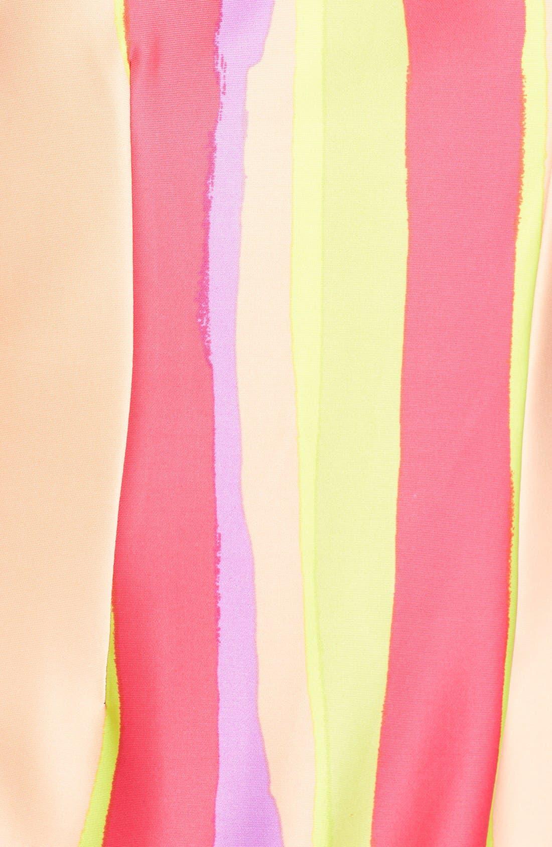 Alternate Image 5  - Chetta B Print Scuba Sheath Dress