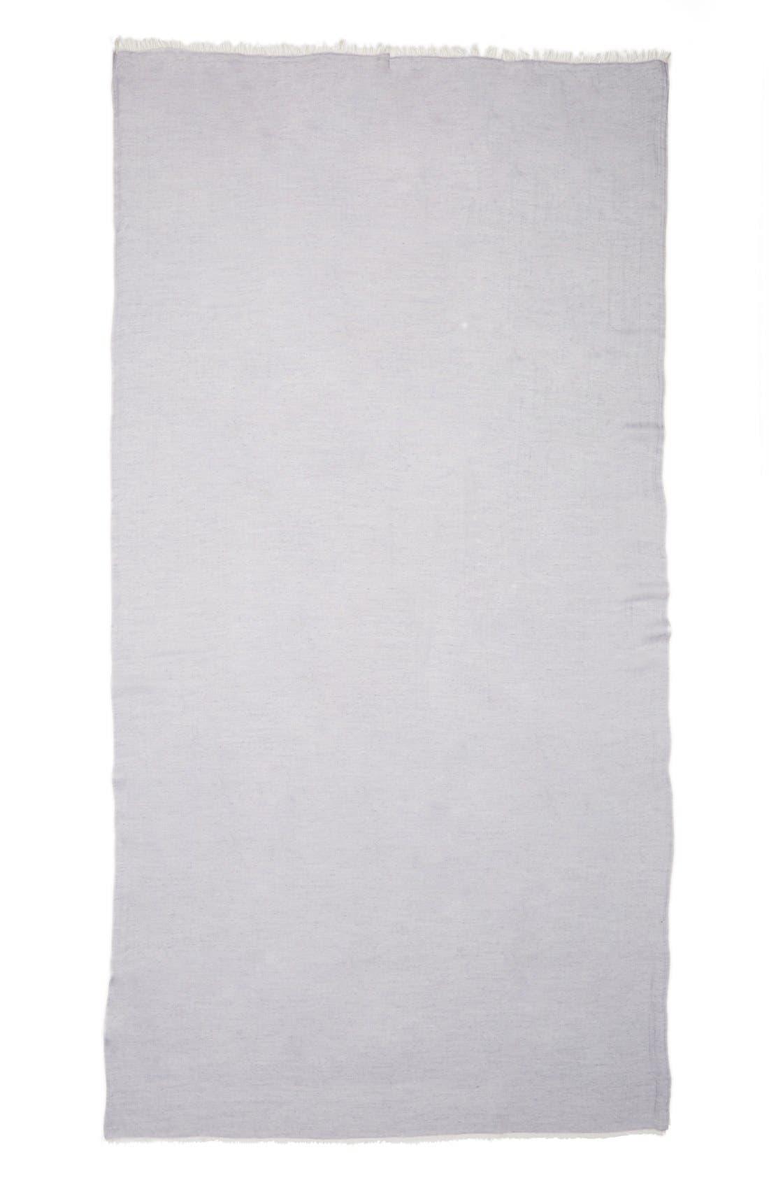 Modal Silk Blend Scarf,                             Alternate thumbnail 2, color,                             Navy Patriot Combo