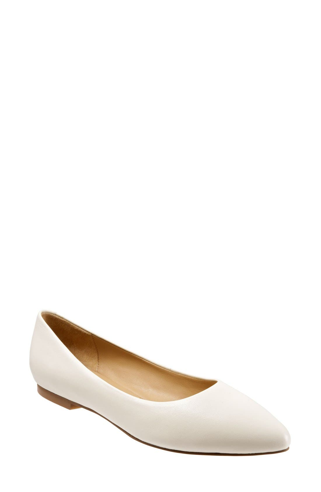 Main Image - Trotters Estee Pointed Toe Flat (Women)