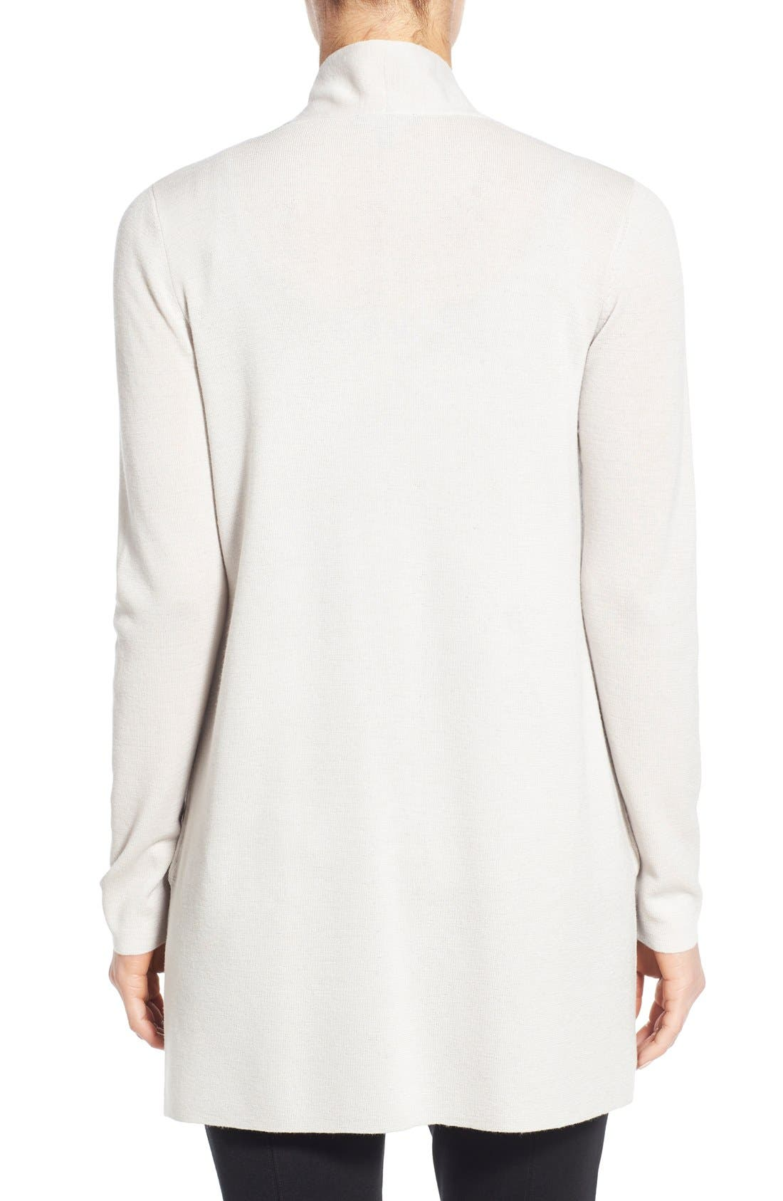 Alternate Image 2  - Eileen Fisher Merino Straight Long Cardigan (Regular & Petite)