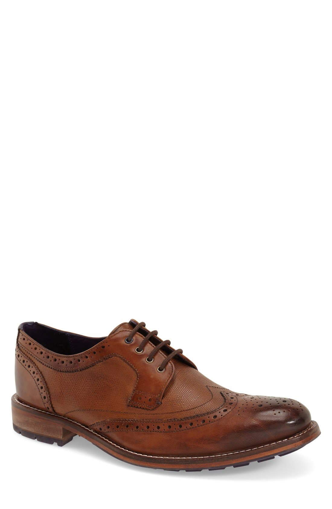 Alternate Image 1 Selected - Ted Baker London 'Cassiuss 4' Wingtip (Men)