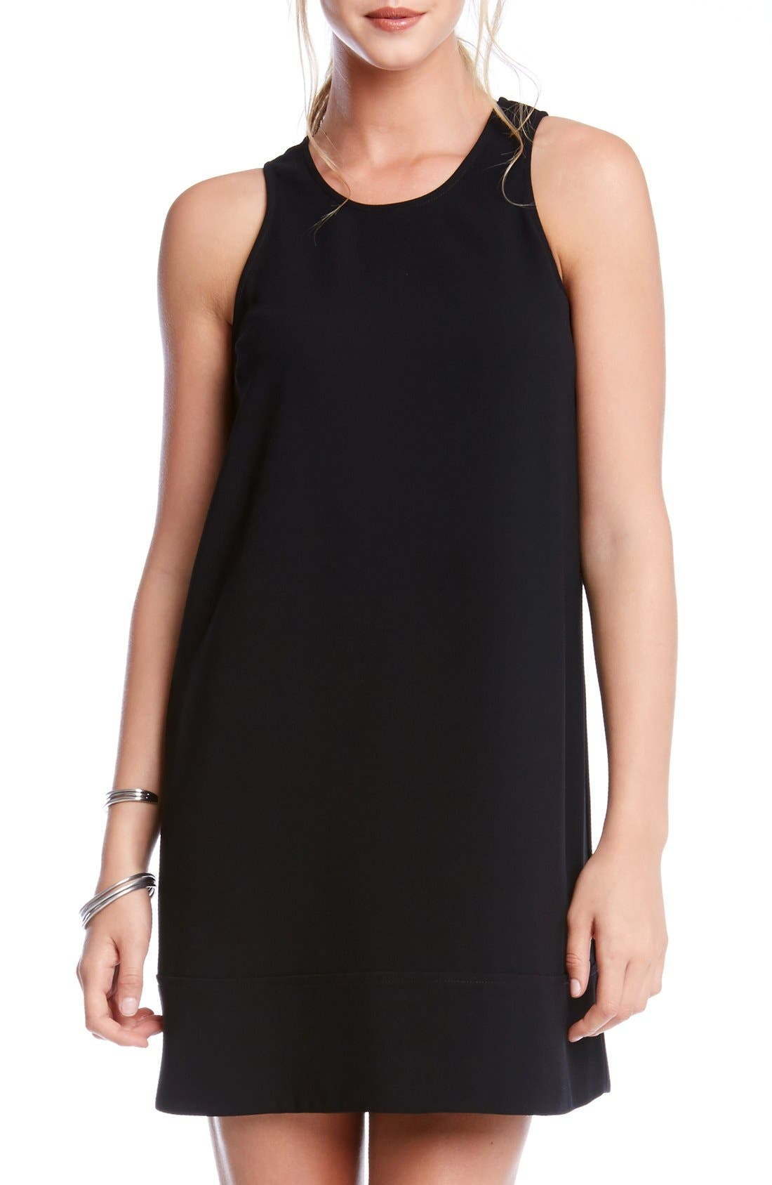 Alternate Image 1 Selected - Karen Kane Crepe Racerback Shift Dress