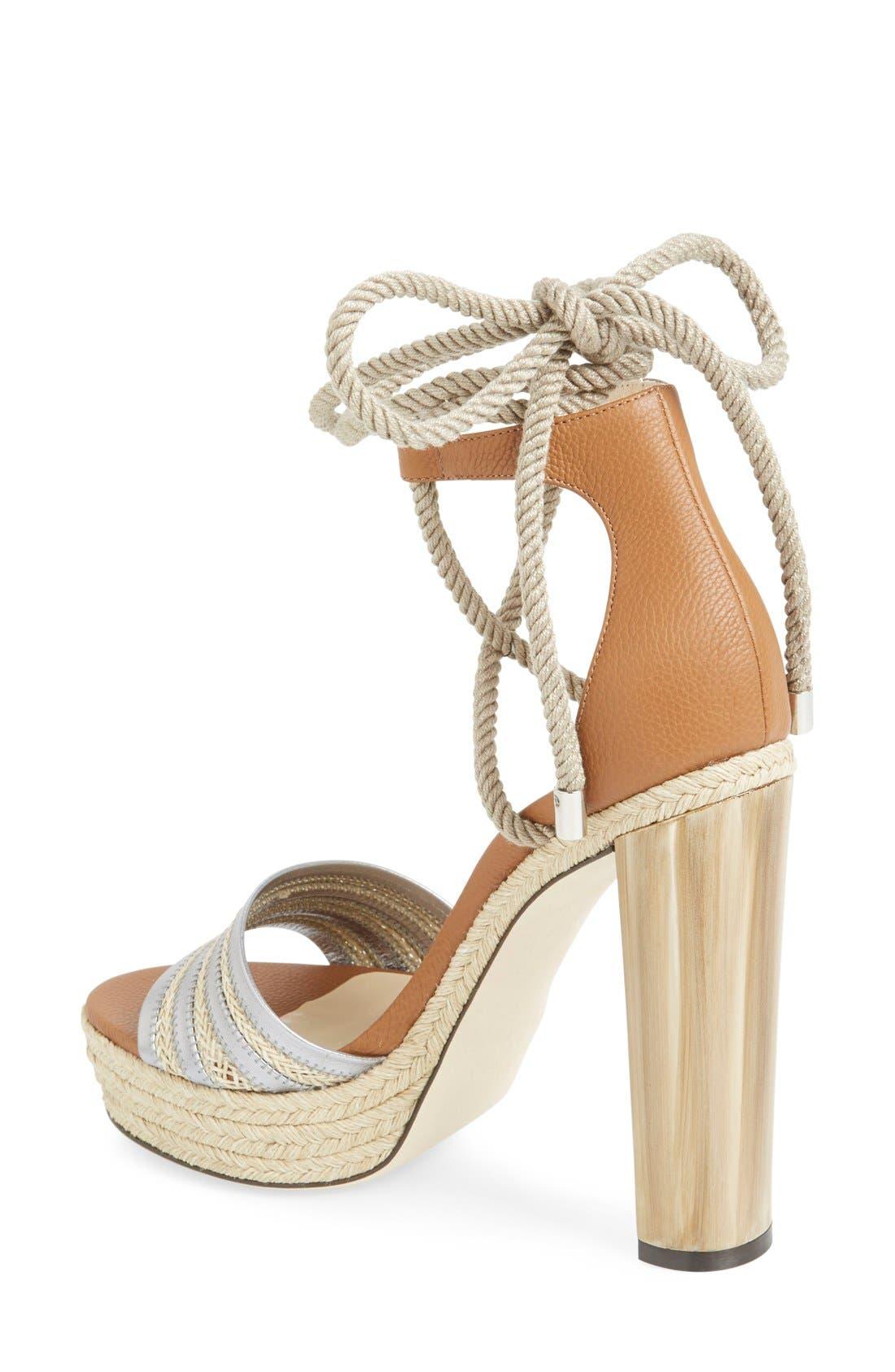 Alternate Image 2  - Jimmy Choo 'Mayje' Platform Sandal (Women)